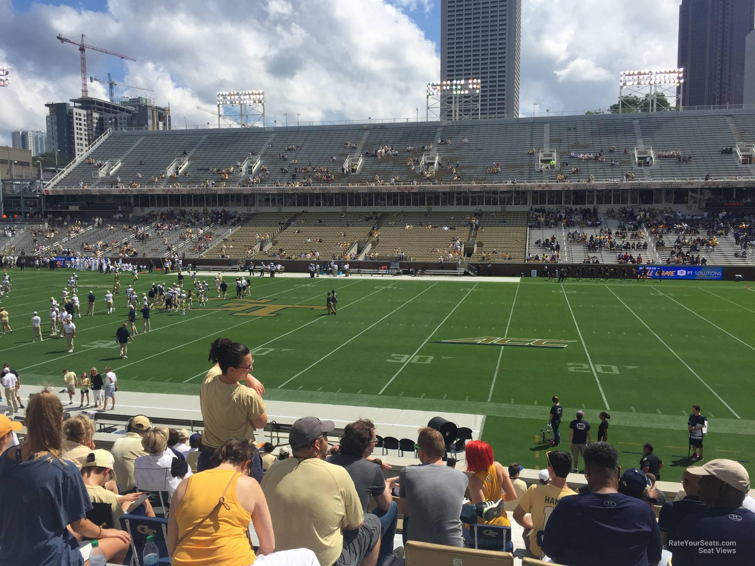 Section 104 At Bobby Dodd Stadium Rateyourseats Com
