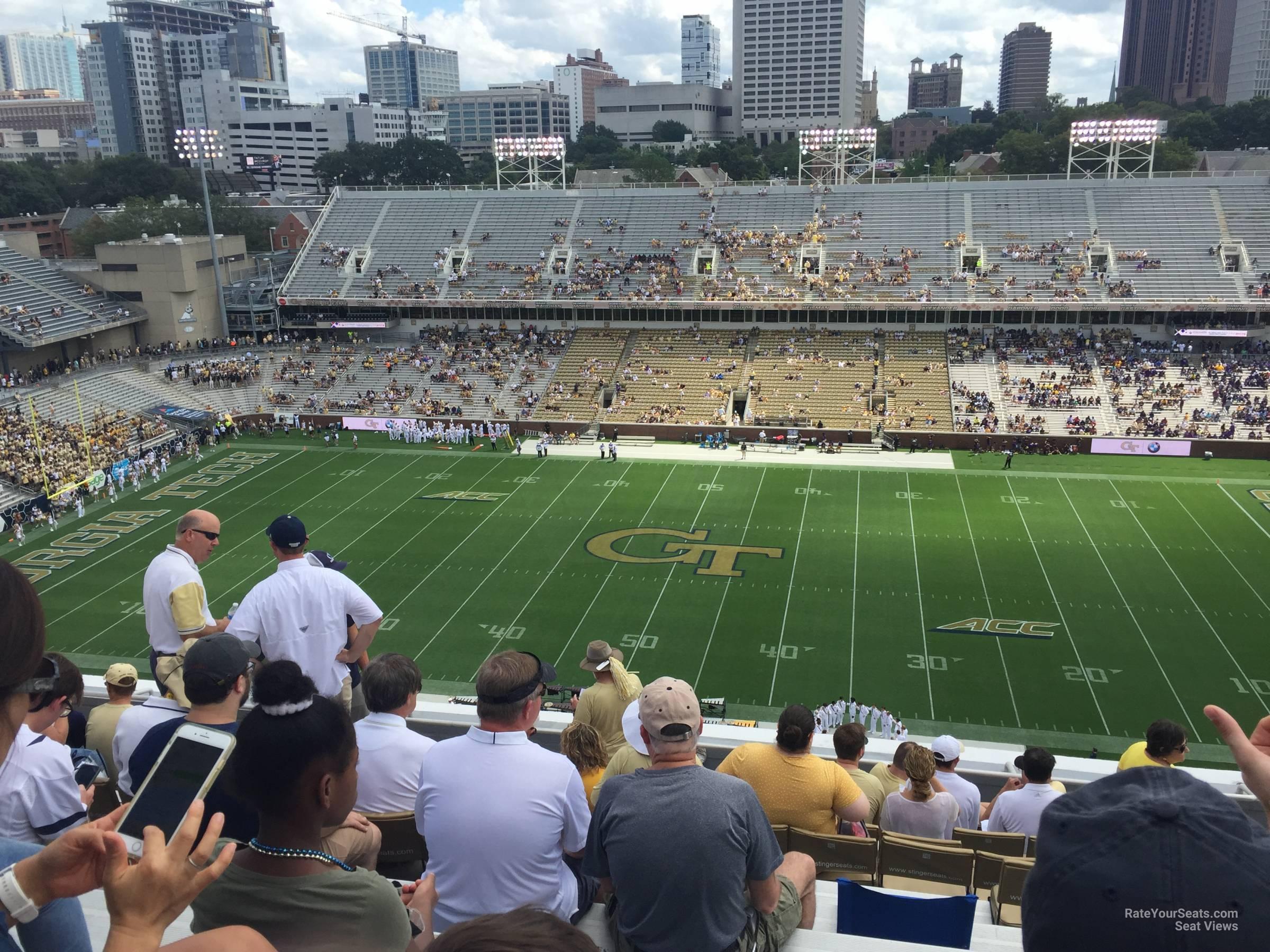 Section 204 At Bobby Dodd Stadium Rateyourseats Com