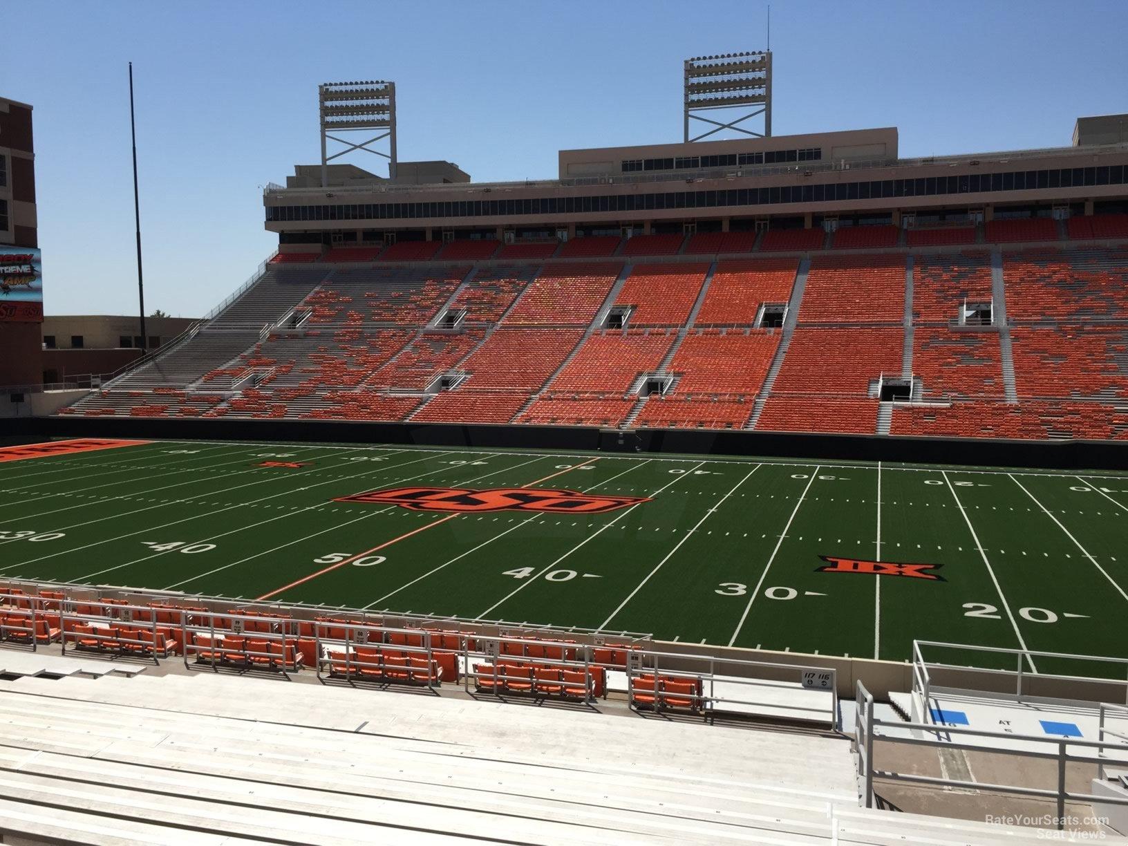 Boone Pickens Stadium Section 224 - RateYourSeats.com