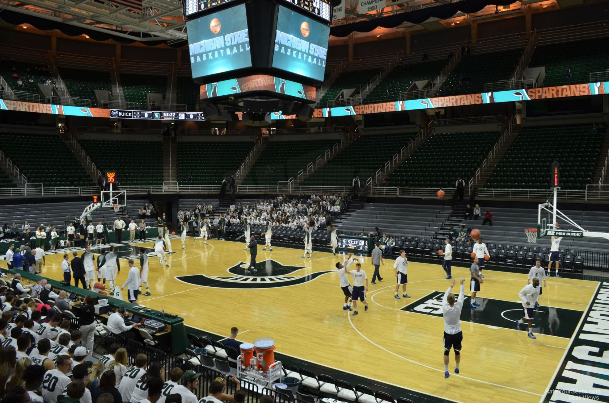 Seat View for Breslin Center Section 109, Row 13