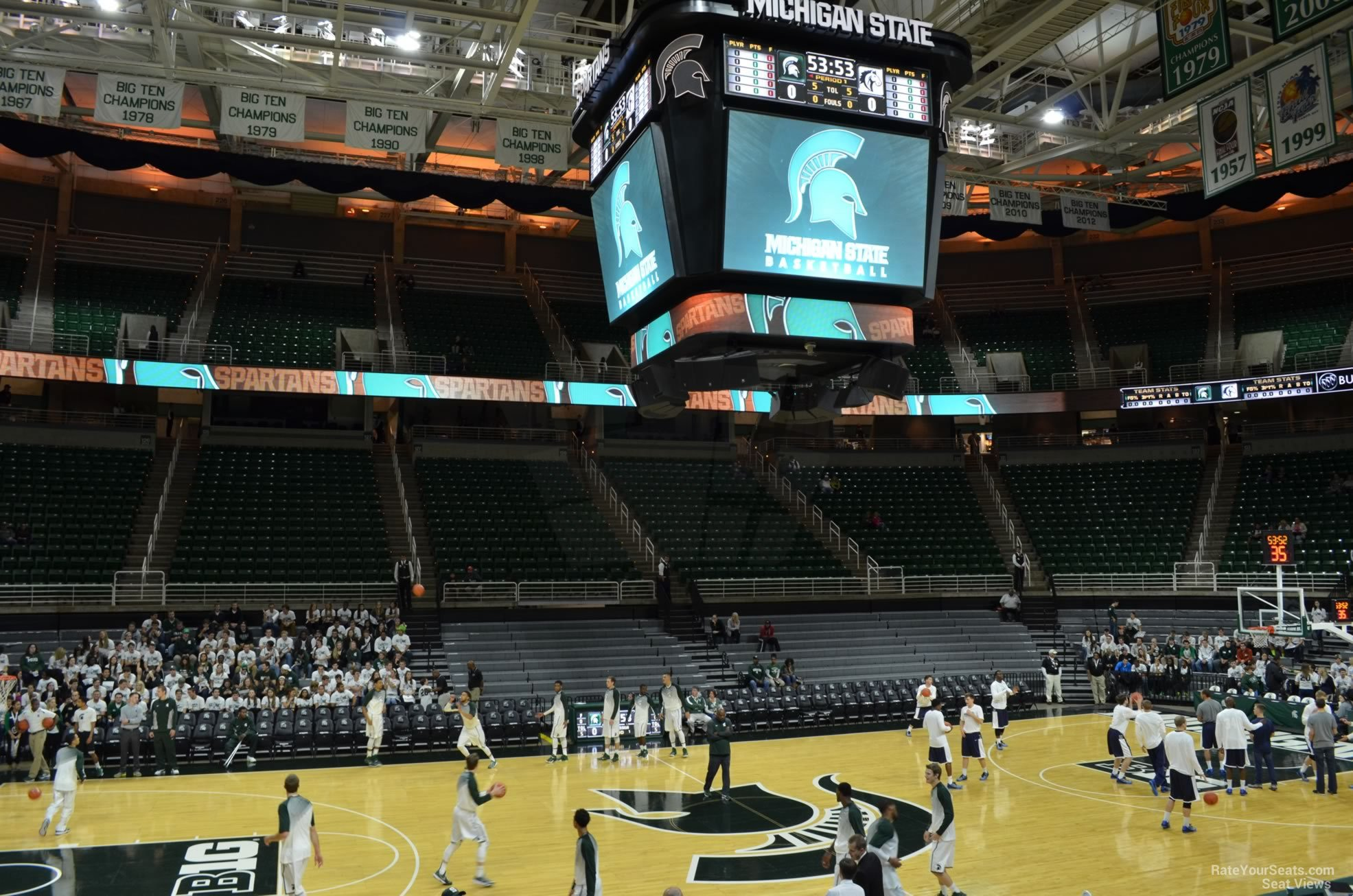Seat View for Breslin Center Section 111, Row 13