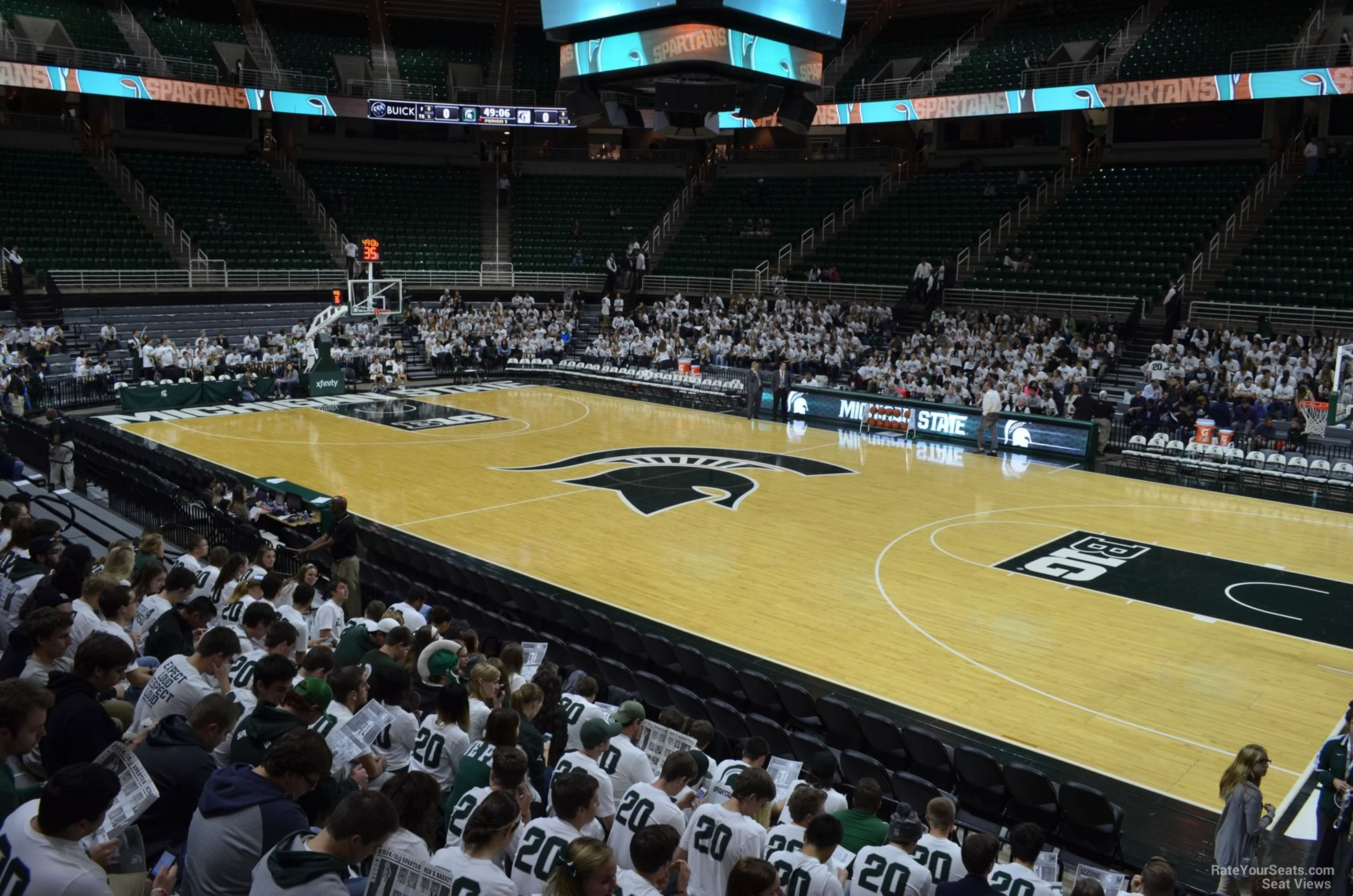 Seat View for Breslin Center Section 126, Row 13