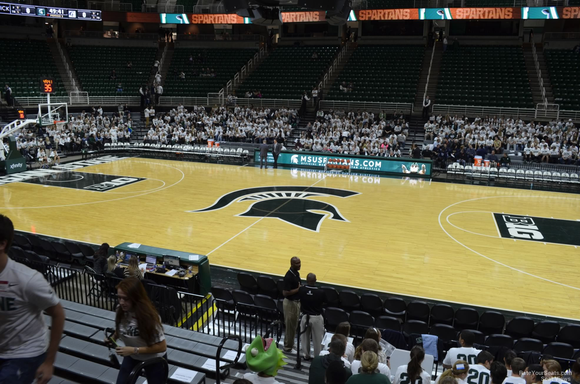 Seat View for Breslin Center Section 127, Row 13