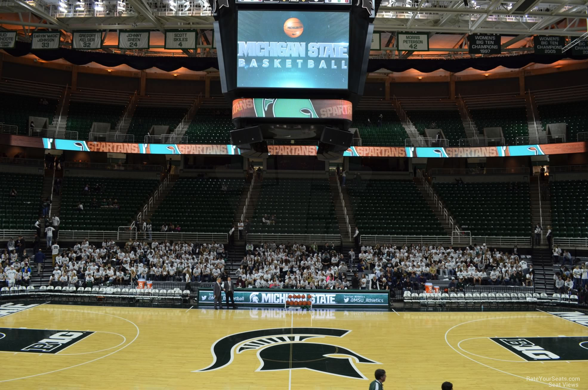 Seat View for Breslin Center Section 128, Row 13