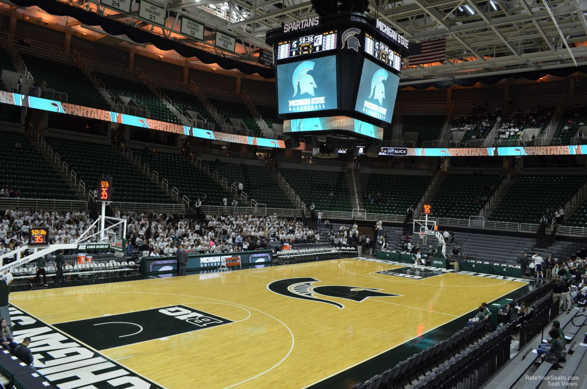 Seat View for Breslin Center Section 133, Row 13