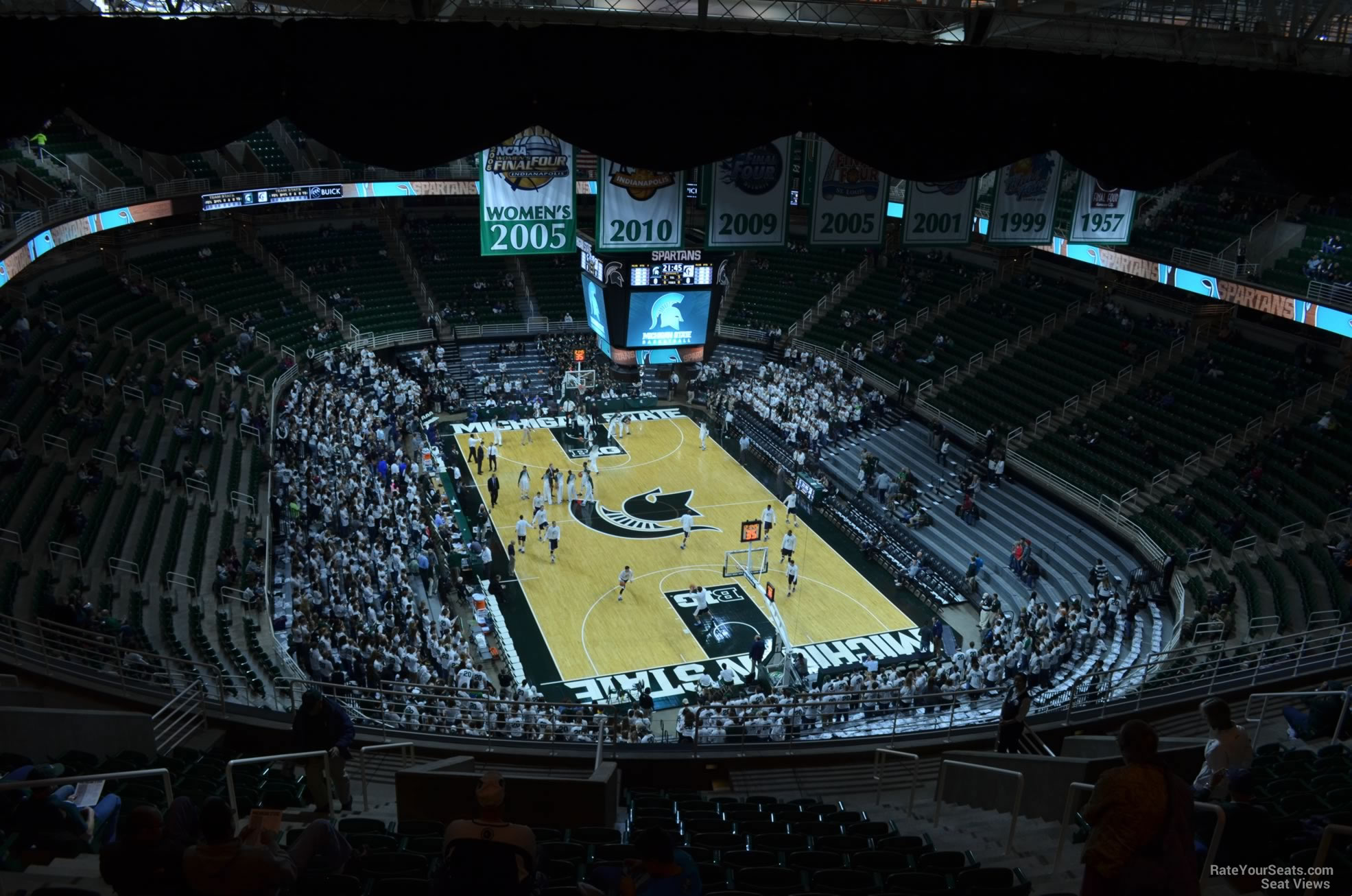 Seat View for Breslin Center Section 202, Row 15