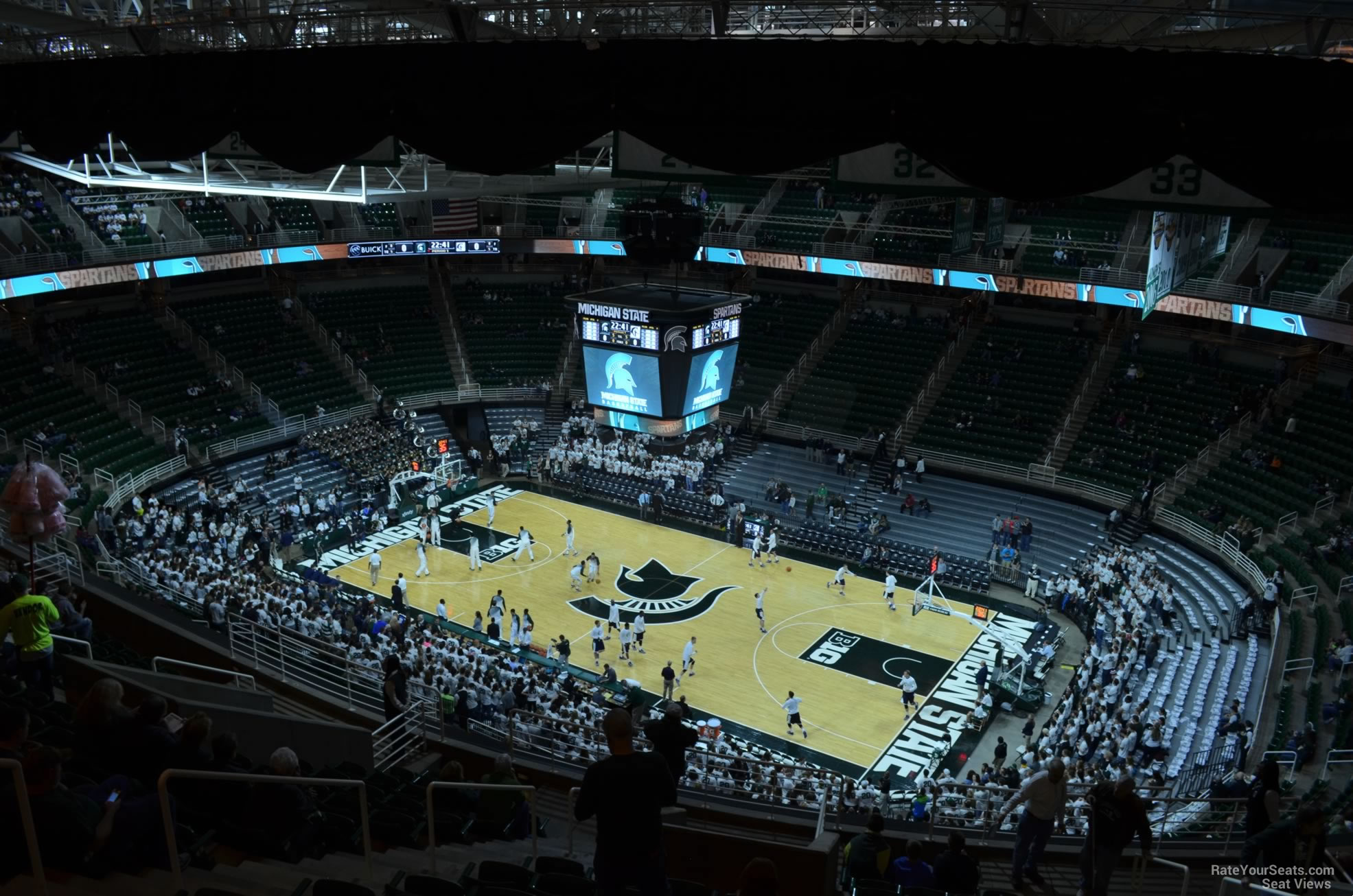 Seat View for Breslin Center Section 206, Row 15