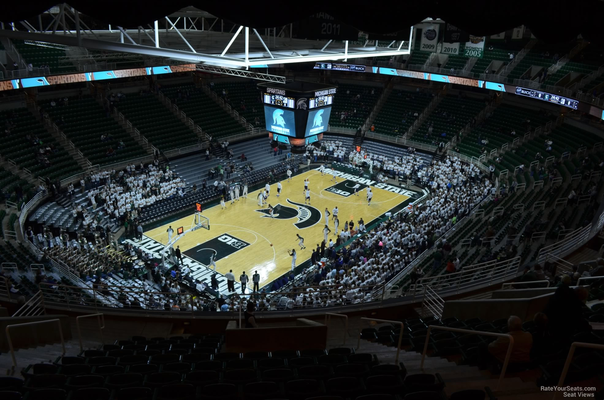 Seat View for Breslin Center Section 214, Row 15