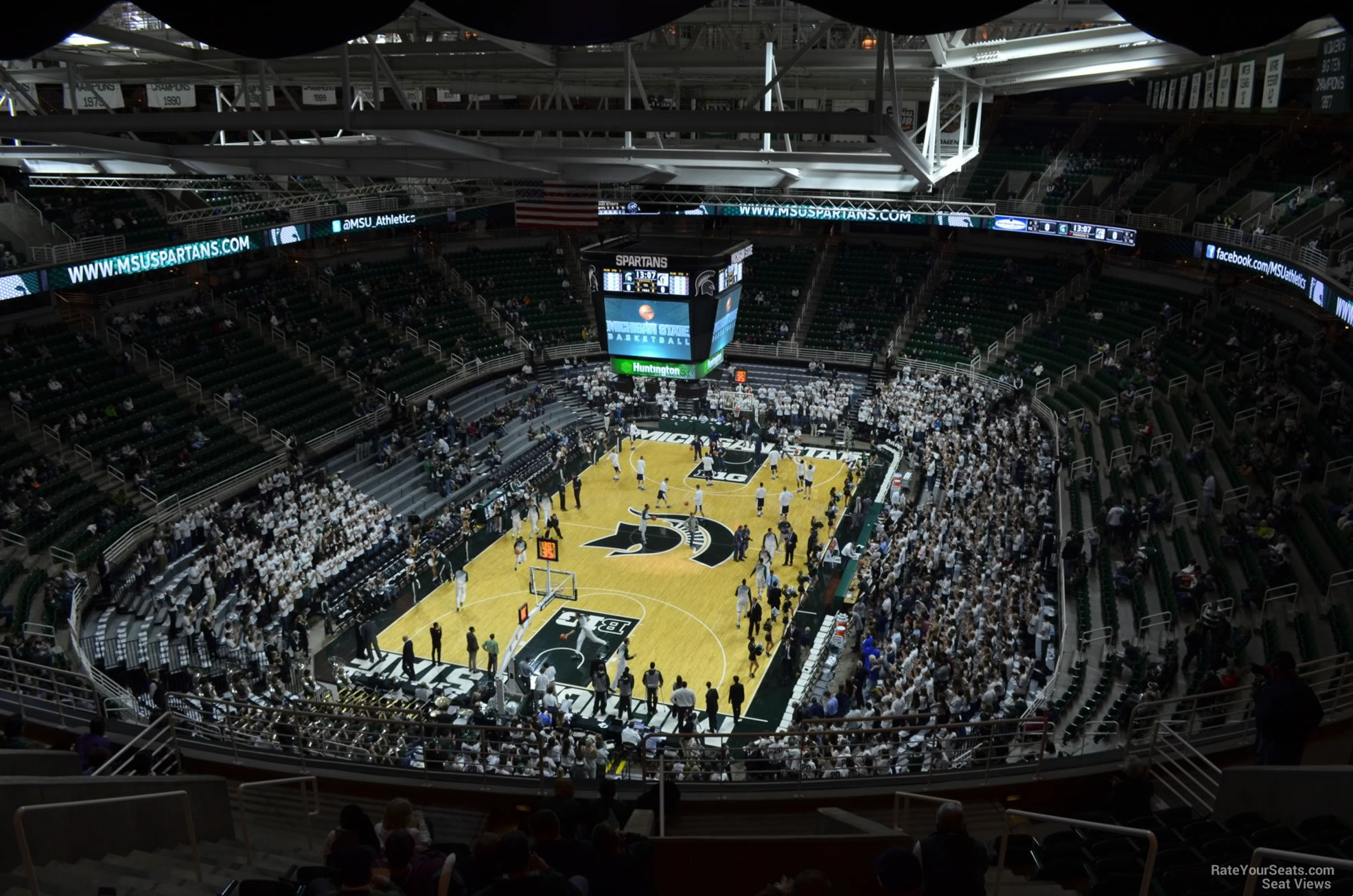 Seat View for Breslin Center Section 216, Row 15