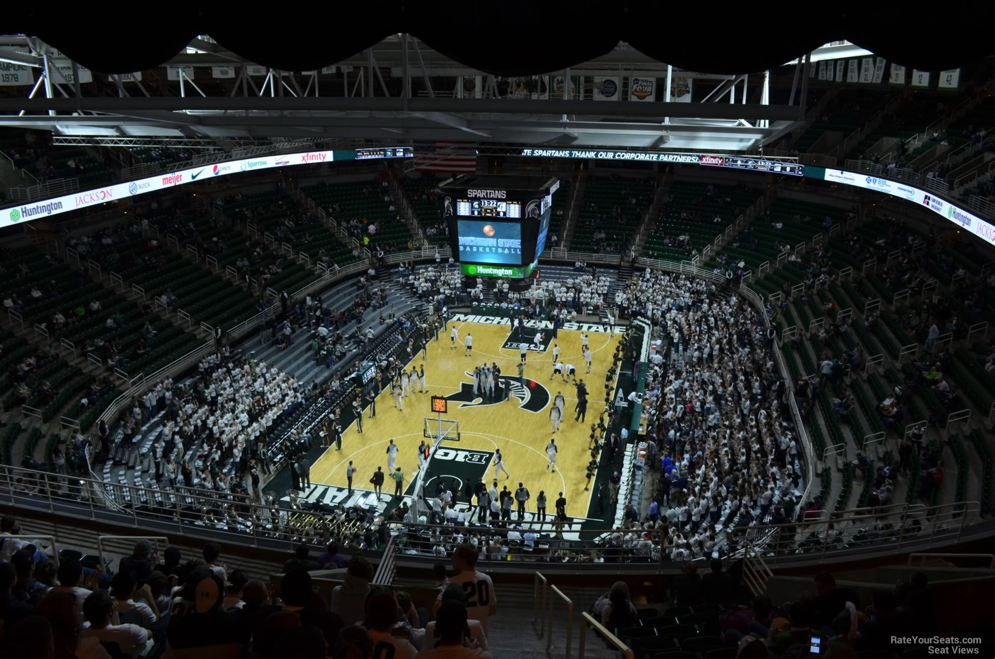 Seat View for Breslin Center Section 217, Row 15
