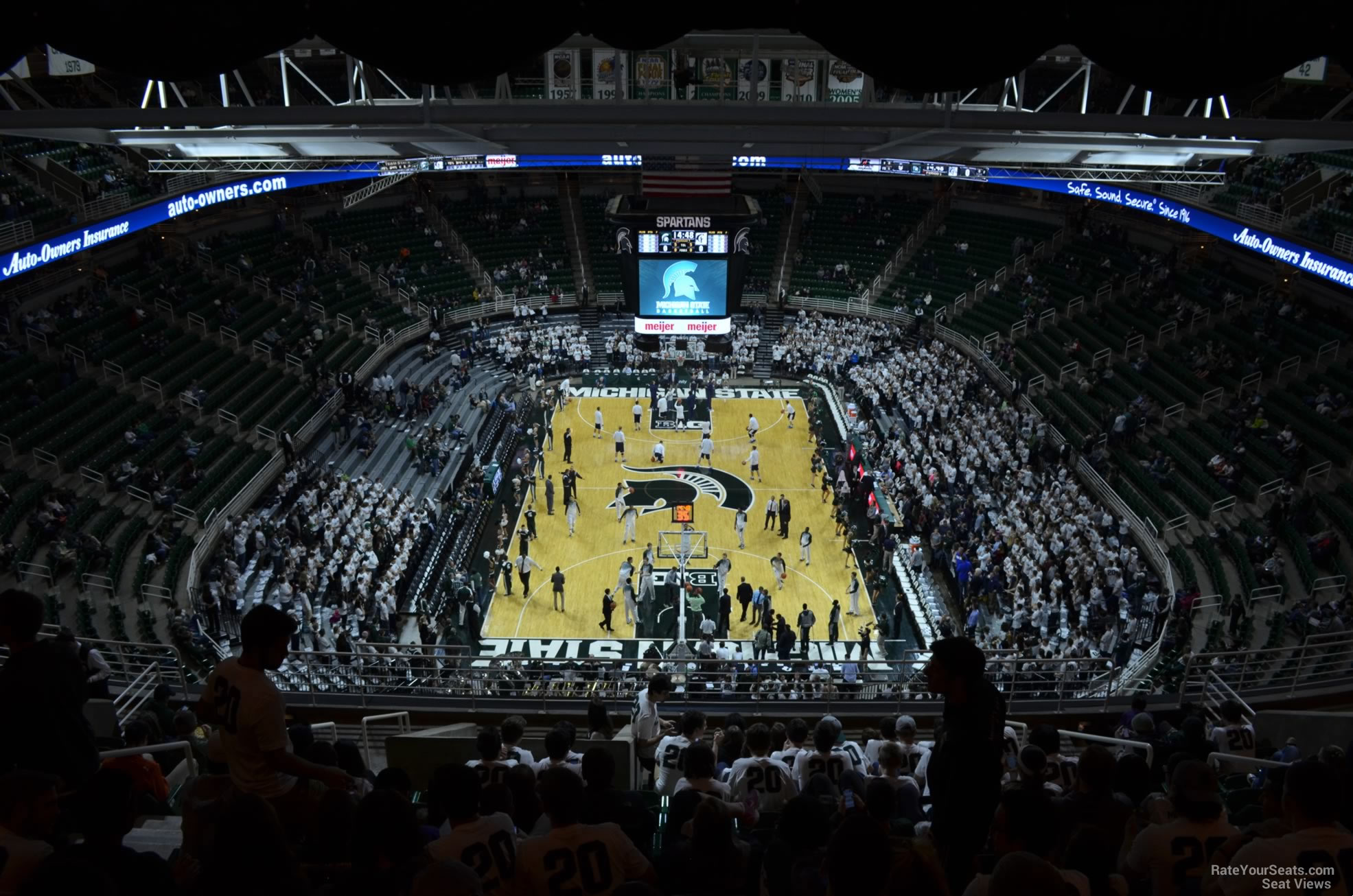 Seat View for Breslin Center Section 218, Row 15