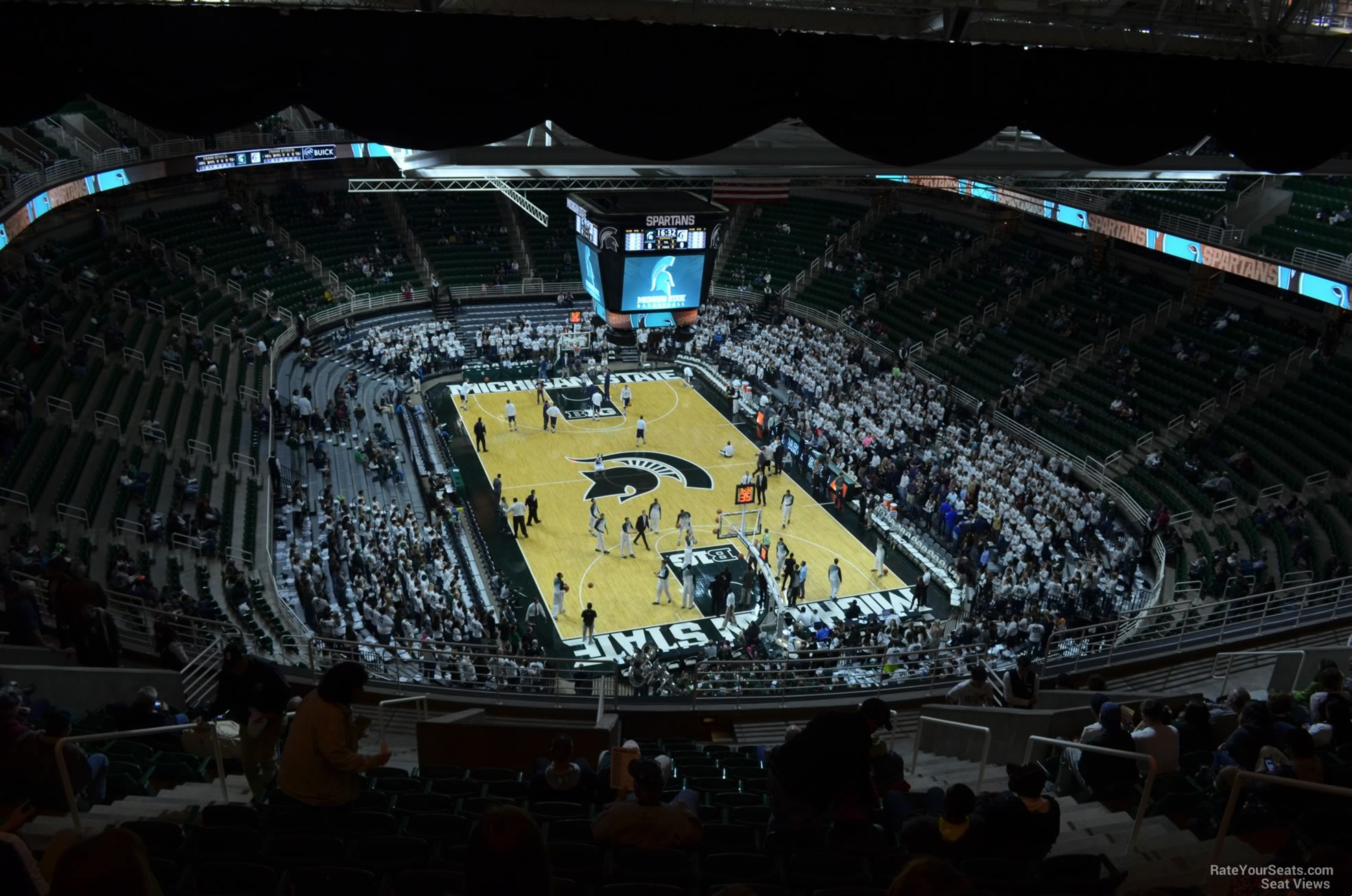 Seat View for Breslin Center Section 220, Row 15