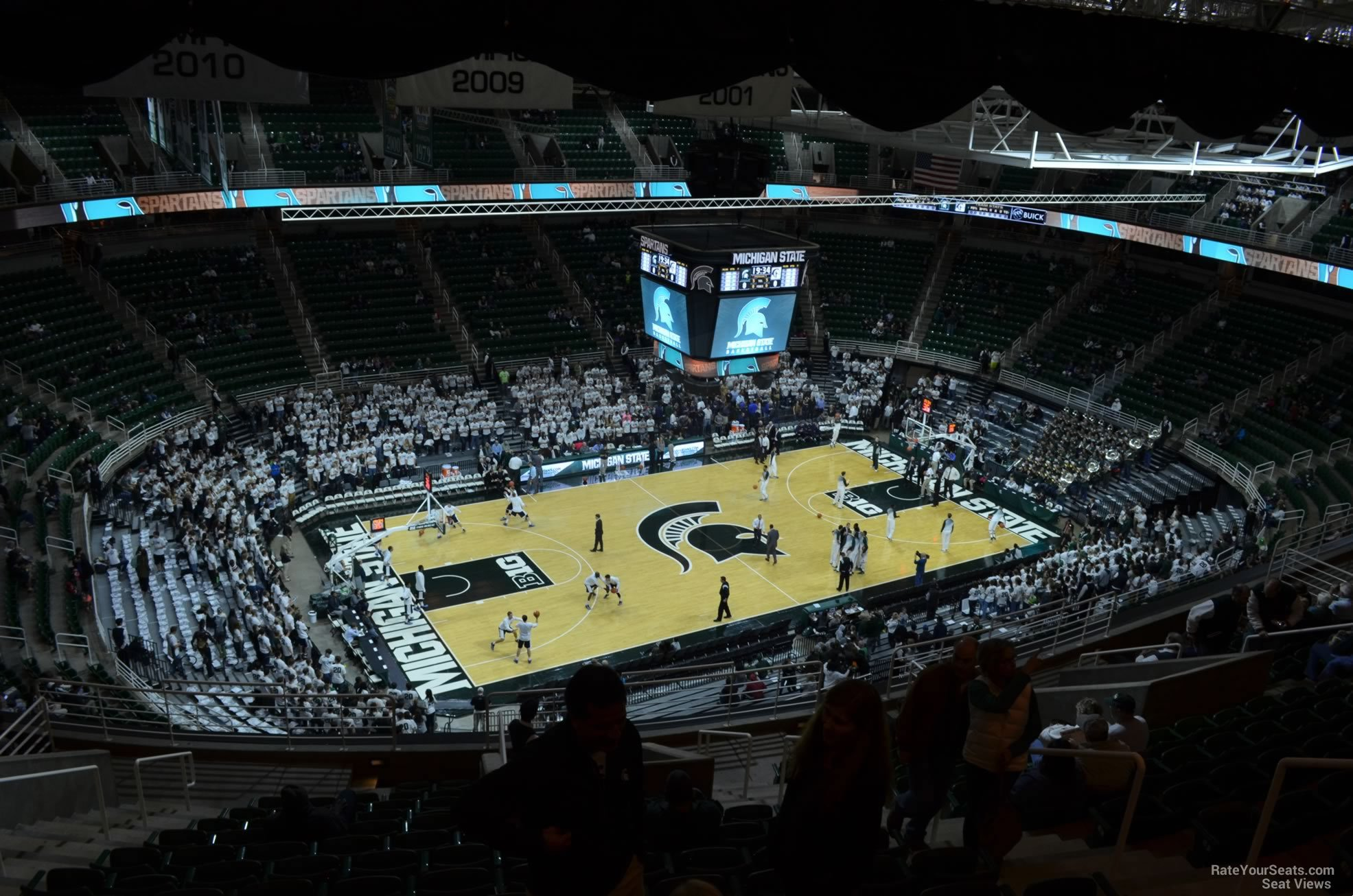 Seat View for Breslin Center Section 230, Row 15