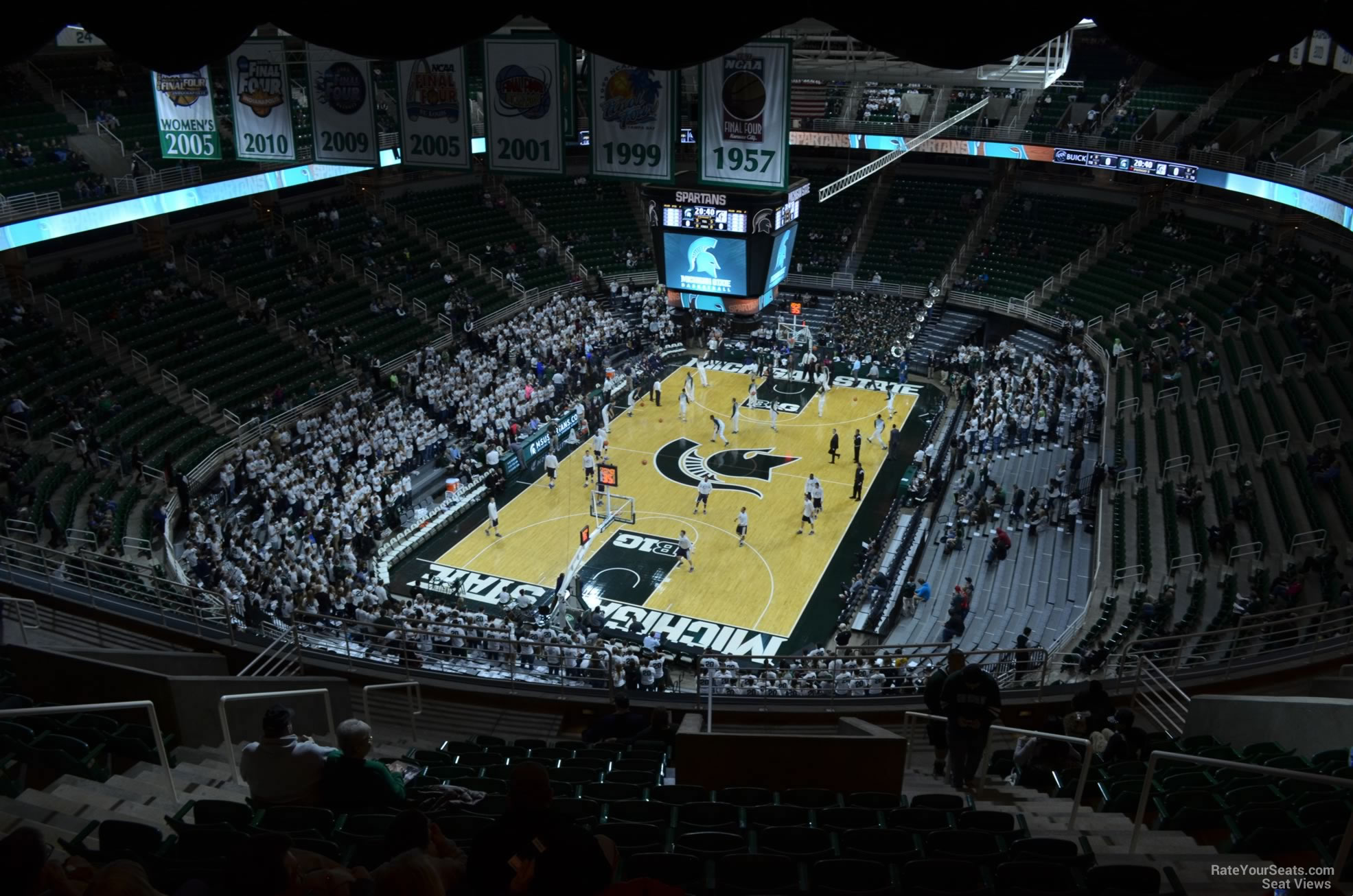 Seat View for Breslin Center Section 234, Row 15