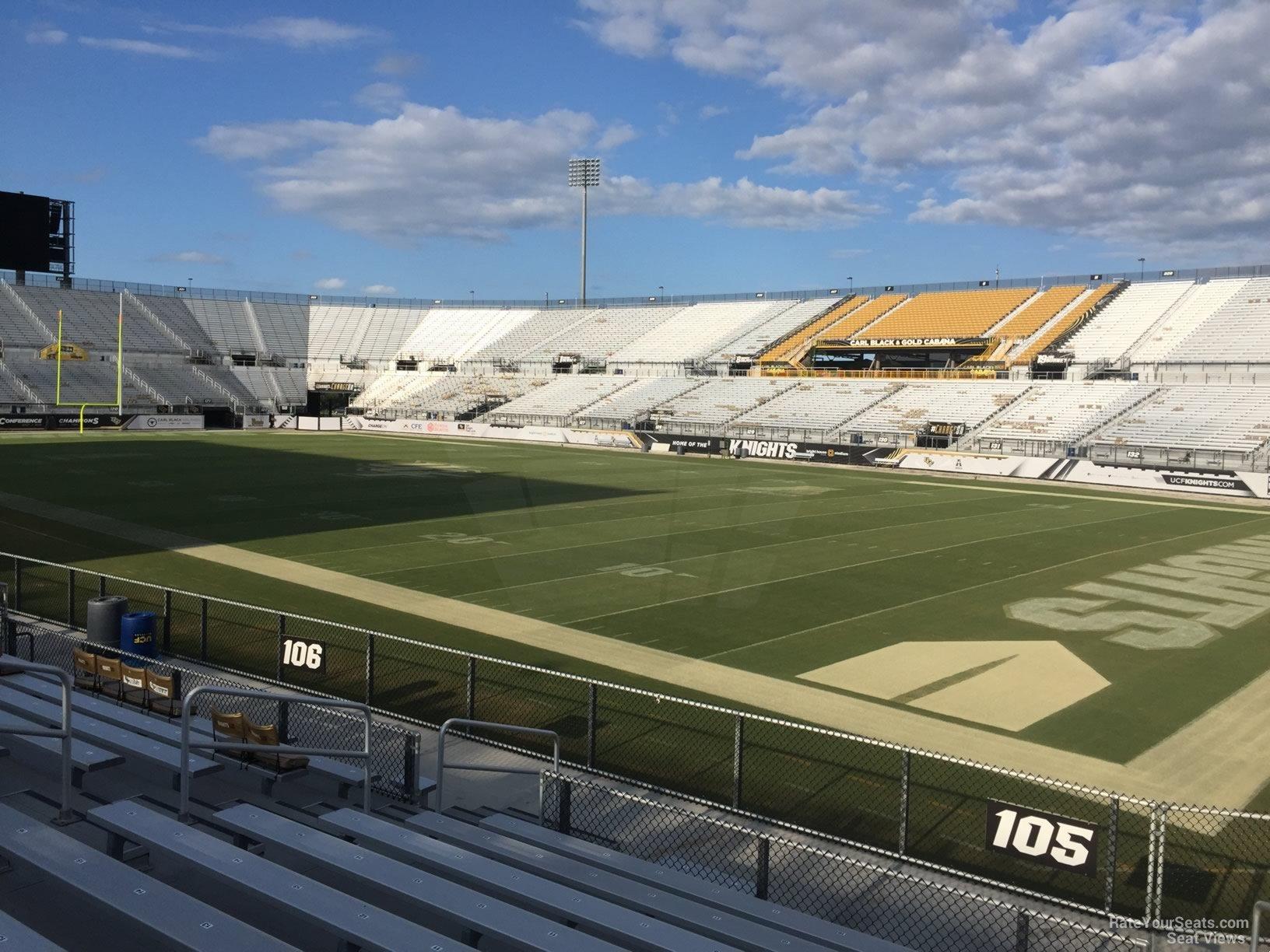 Spectrum Stadium Section 105 Rateyourseatscom