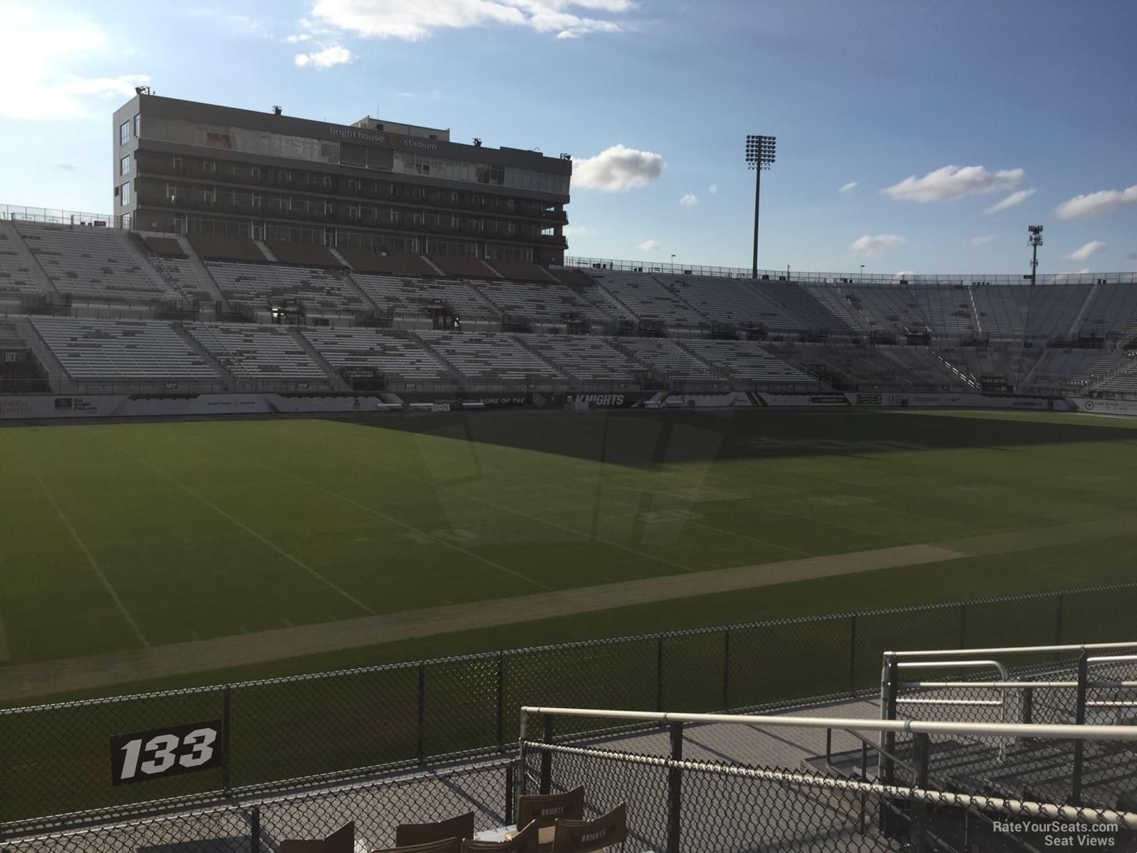 Spectrum Stadium Section 133 Rateyourseatscom