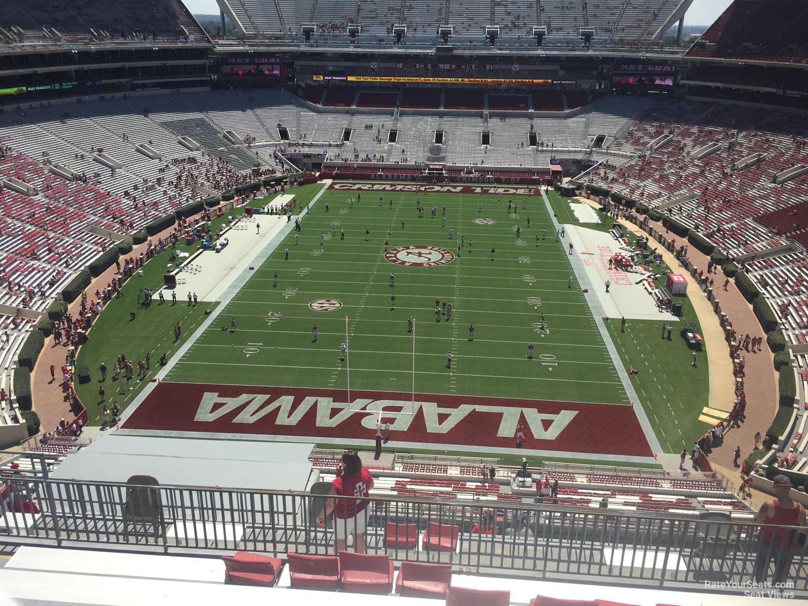 Bryant Denny Stadium Section Nn7 Rateyourseatscom
