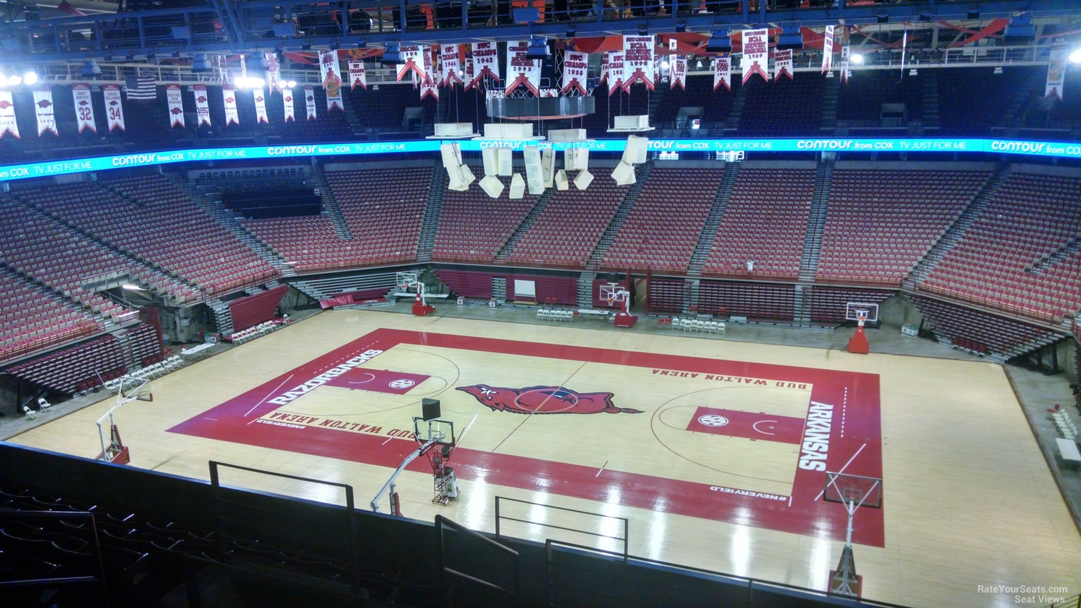 Seat View for Bud Walton Arena Section 216, Row 8