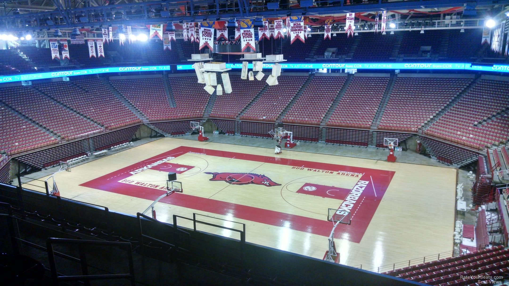 Seat View for Bud Walton Arena Section 233, Row 8