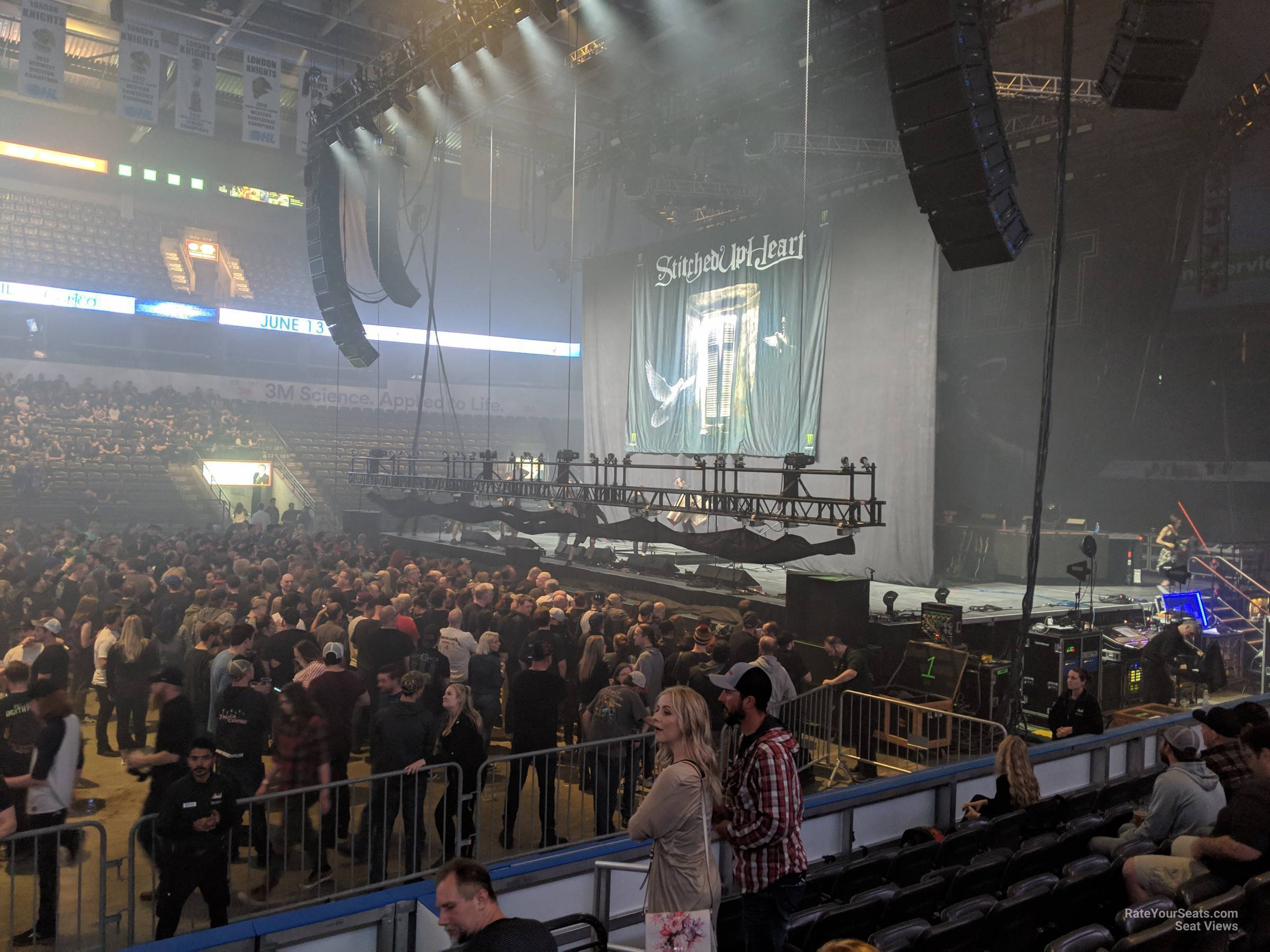 Section 104 At Budweiser Gardens Rateyourseats Com