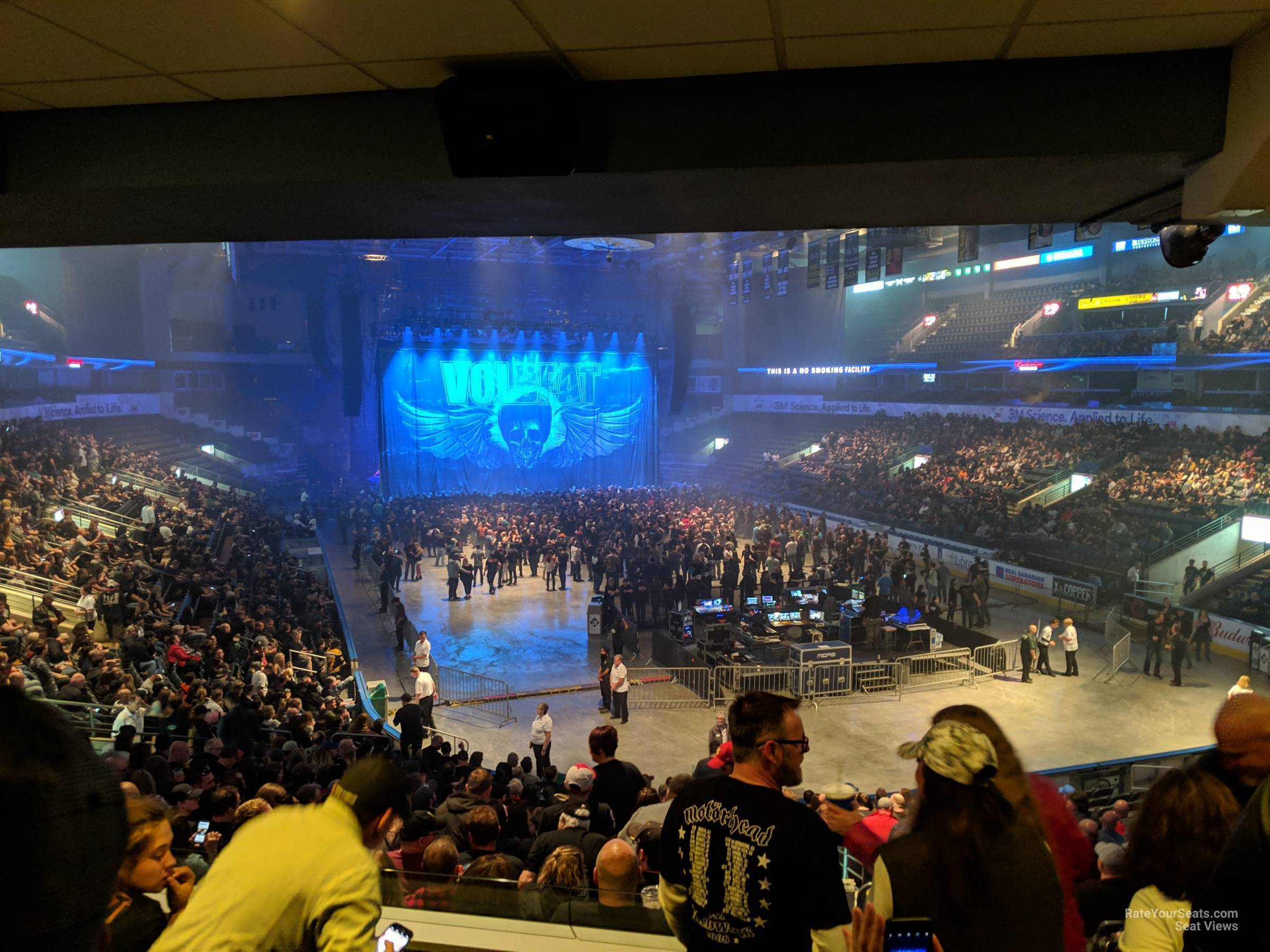 Section 210 At Budweiser Gardens Rateyourseats Com