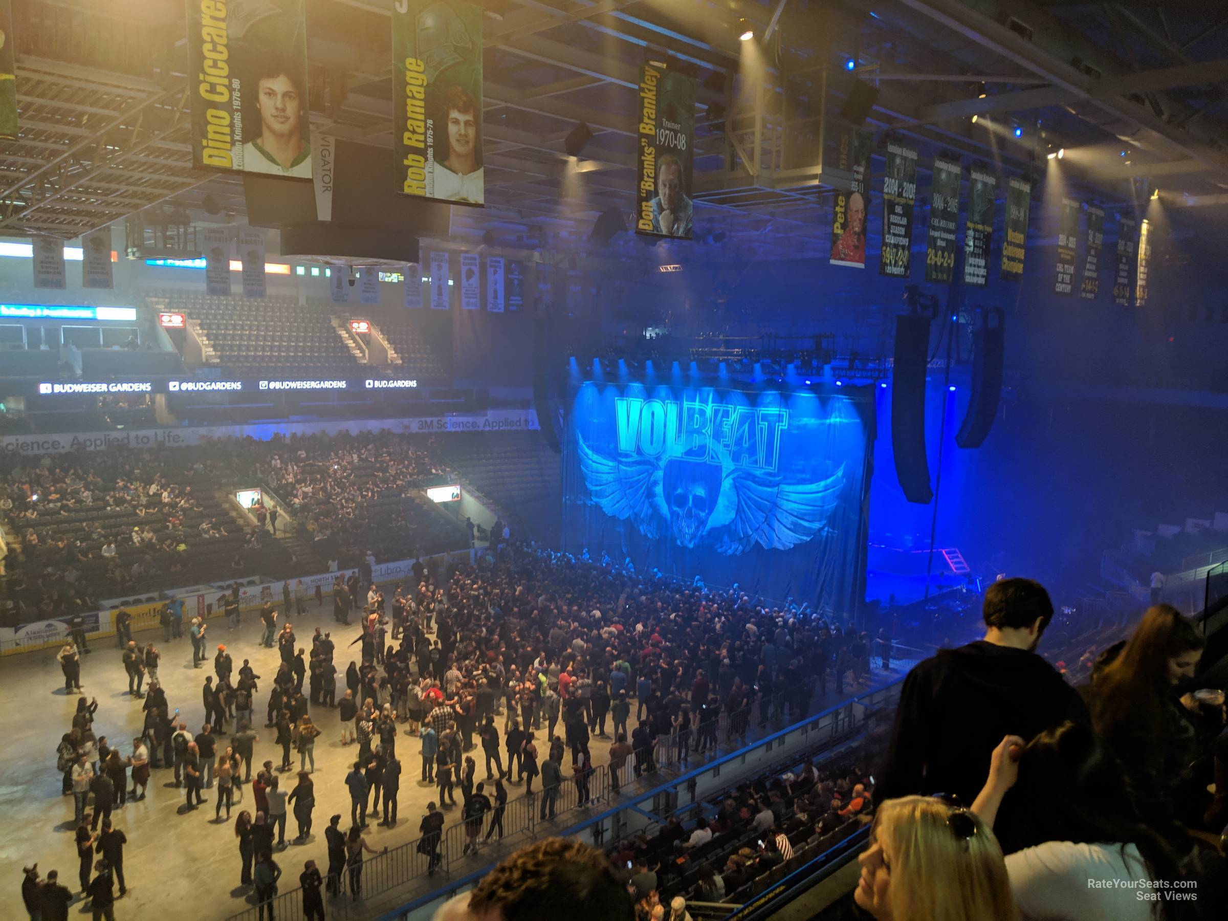Section 305 At Budweiser Gardens Rateyourseats Com