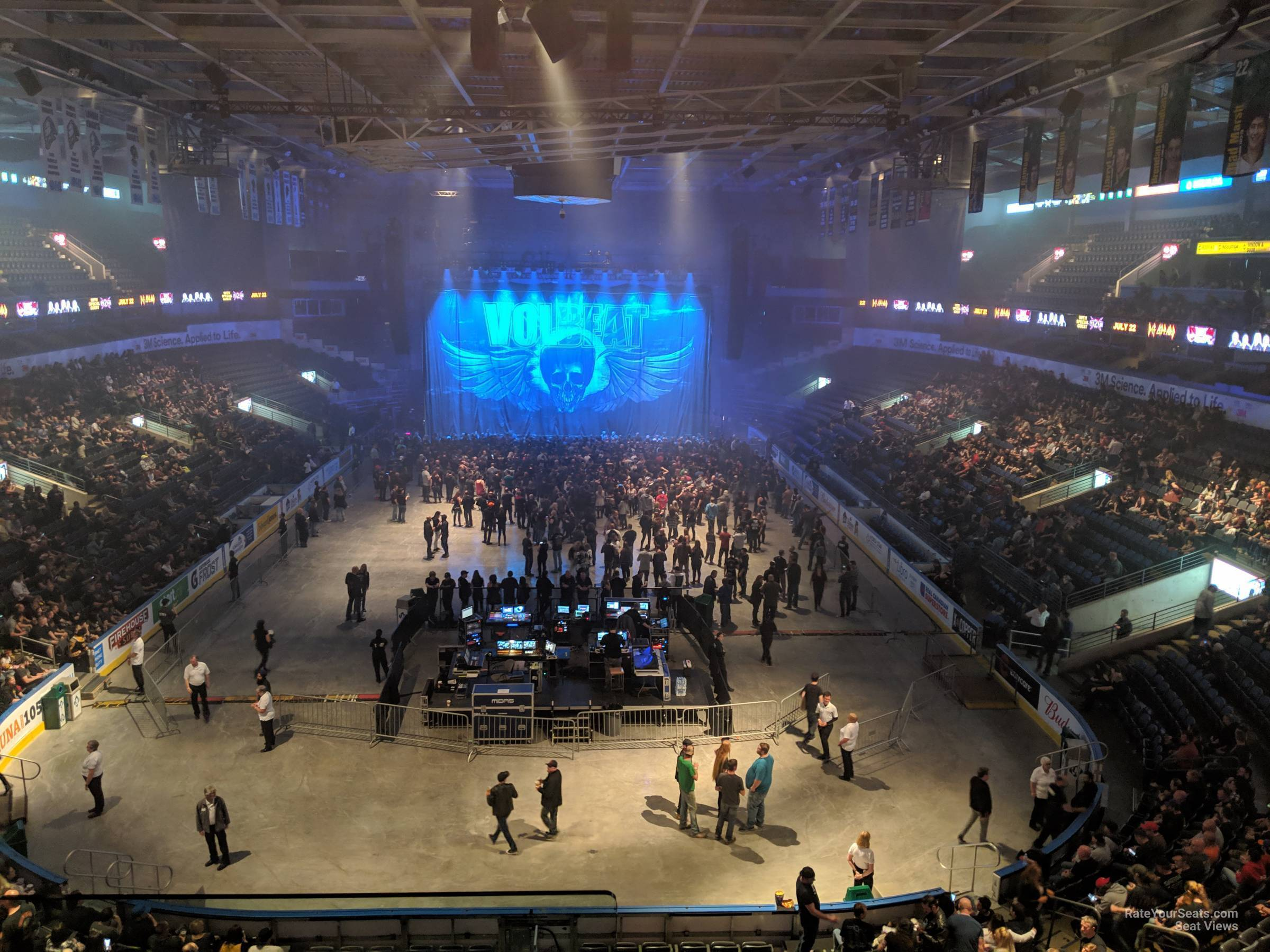 Section 309 At Budweiser Gardens Rateyourseats Com