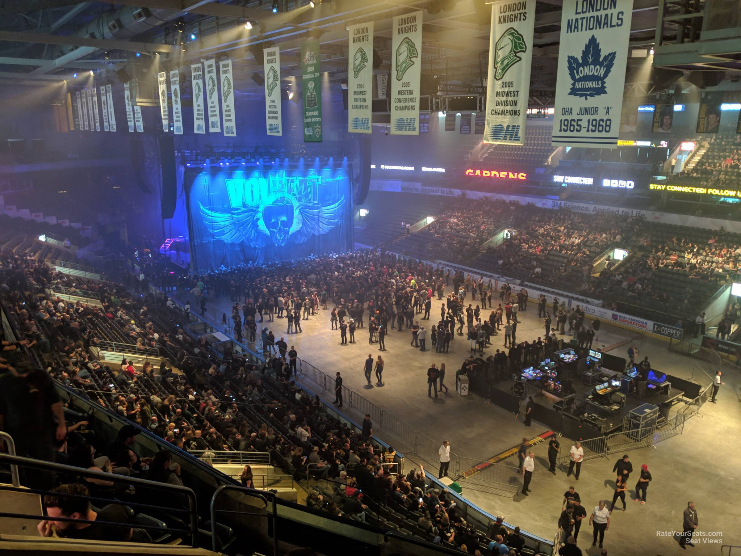 Section 312 At Budweiser Gardens Rateyourseats Com