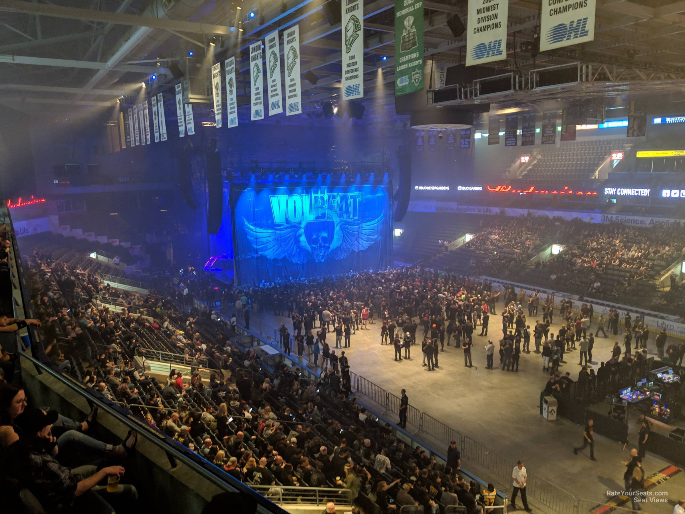 Section 313 At Budweiser Gardens Rateyourseats Com