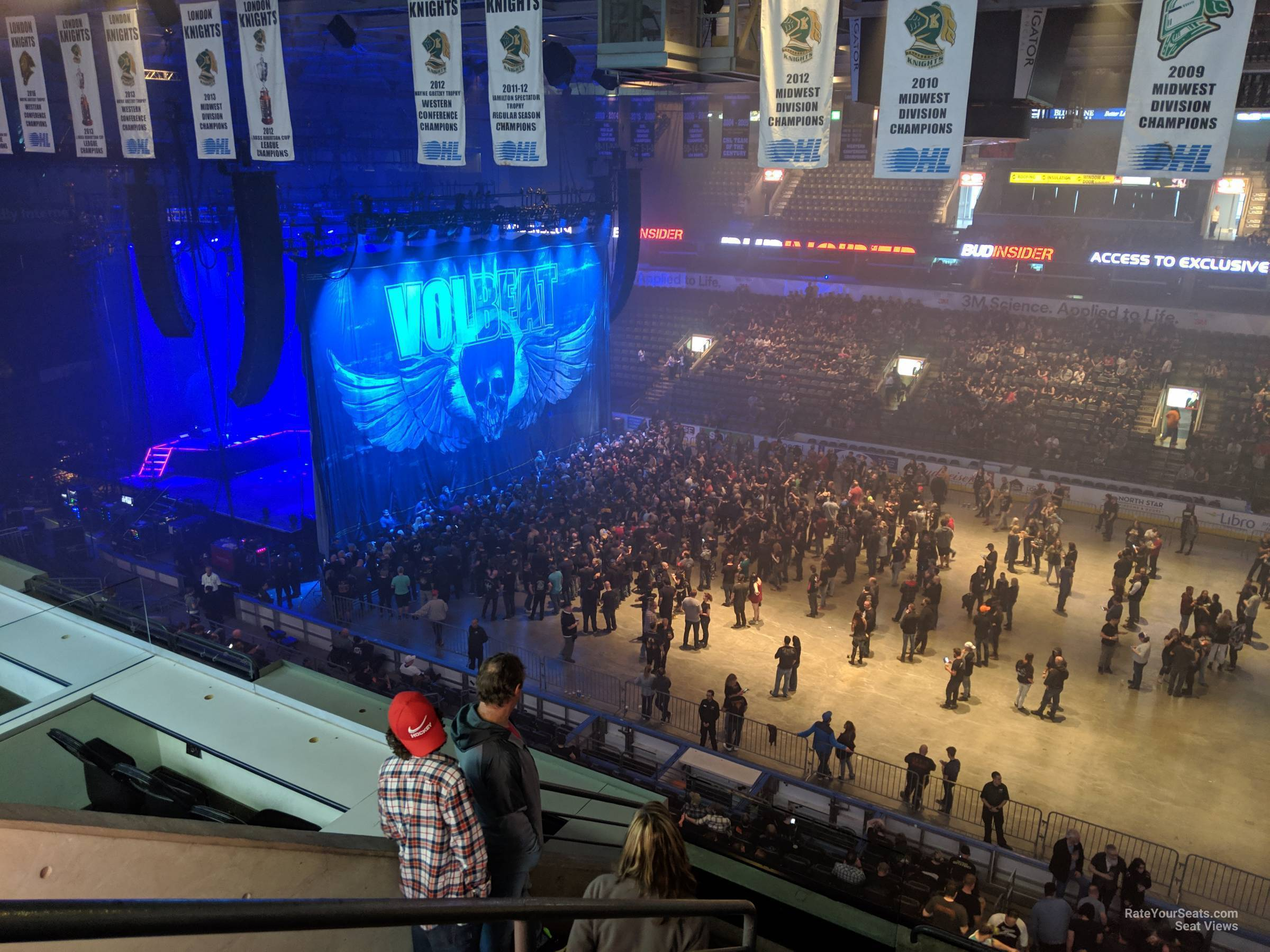 Section 315 At Budweiser Gardens Rateyourseats Com