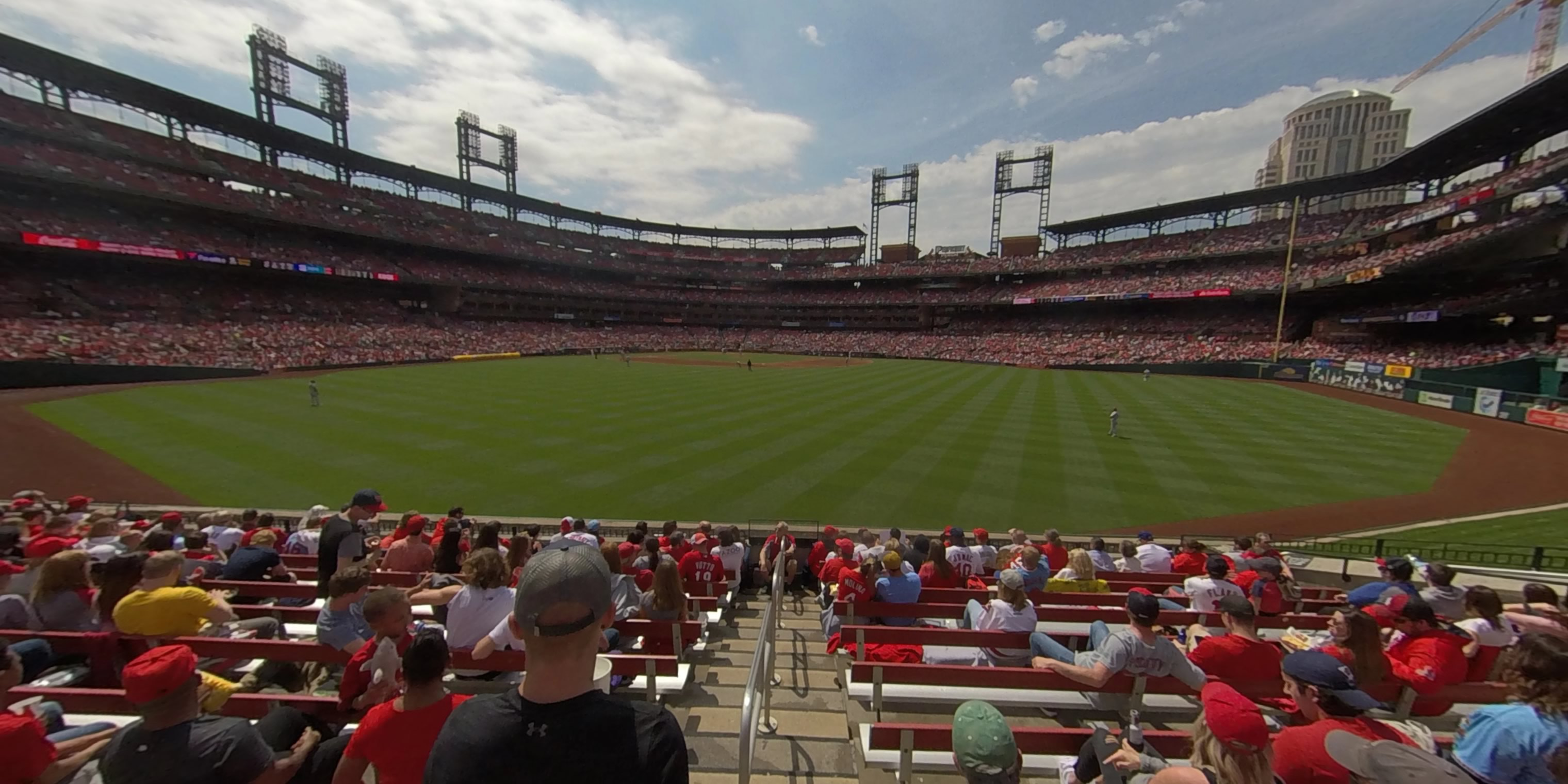 360° Photo From Busch Stadium Section 103