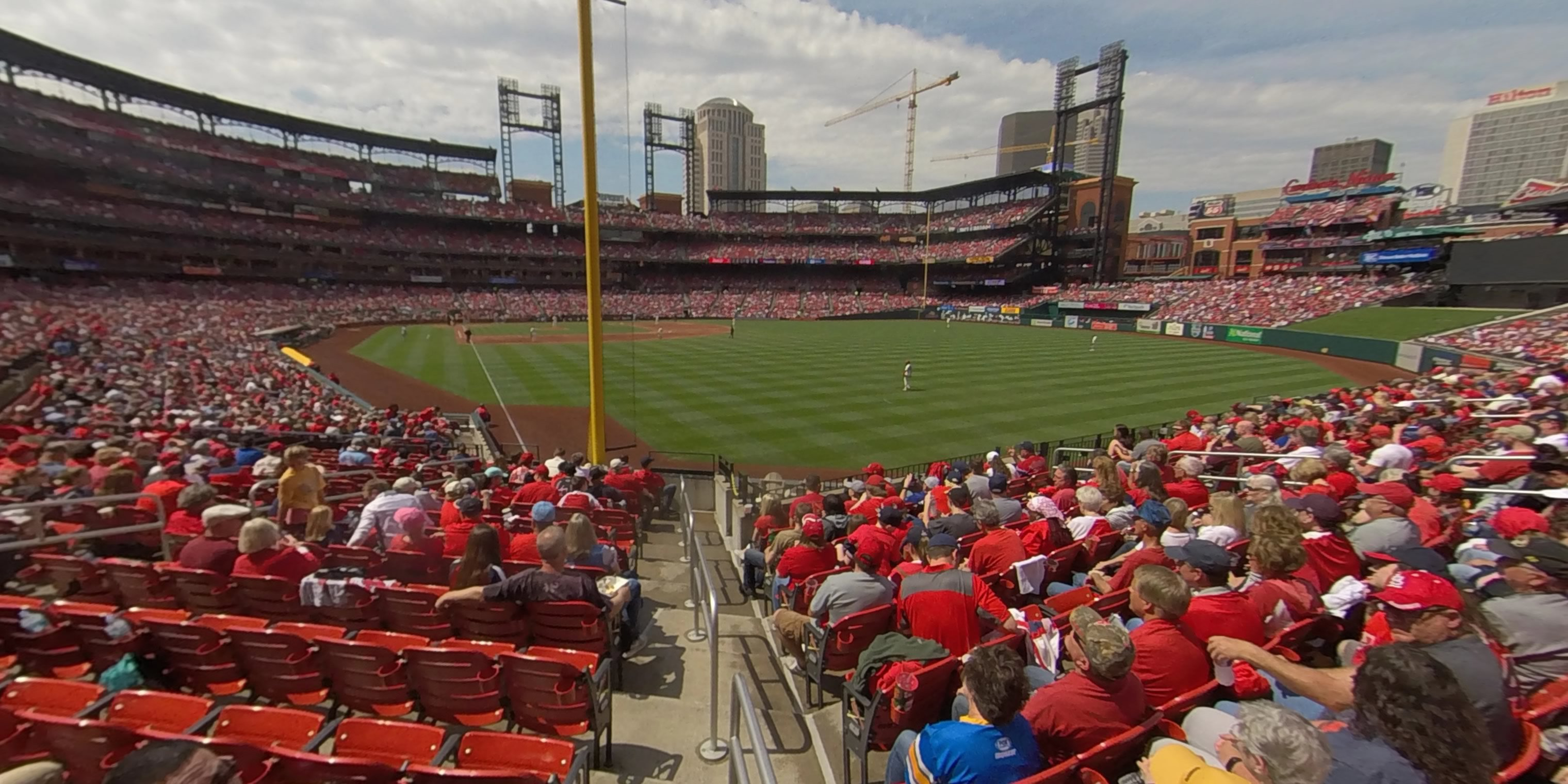360° Photo From Busch Stadium Section 129
