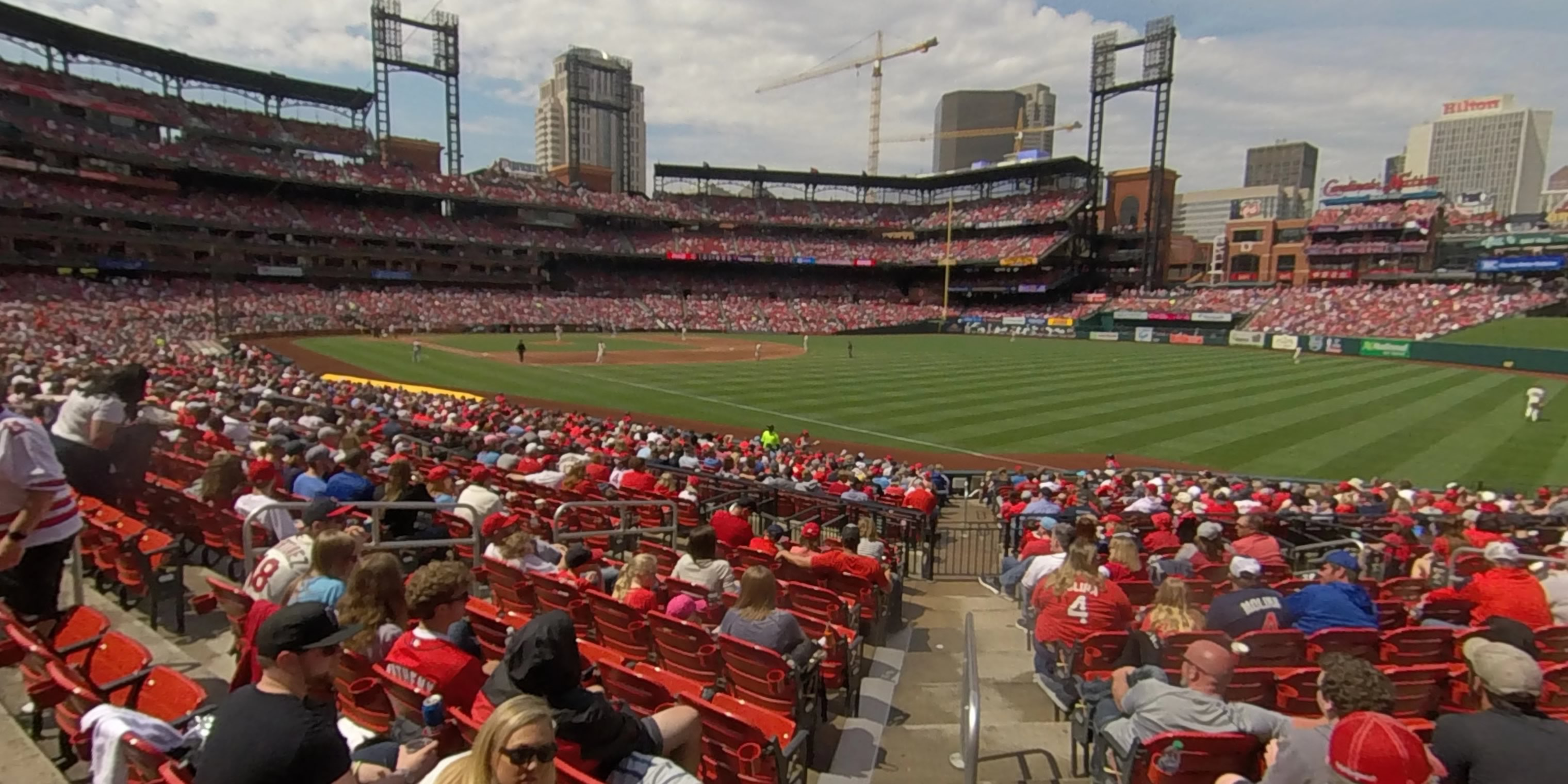 360° Photo From Busch Stadium Section 133