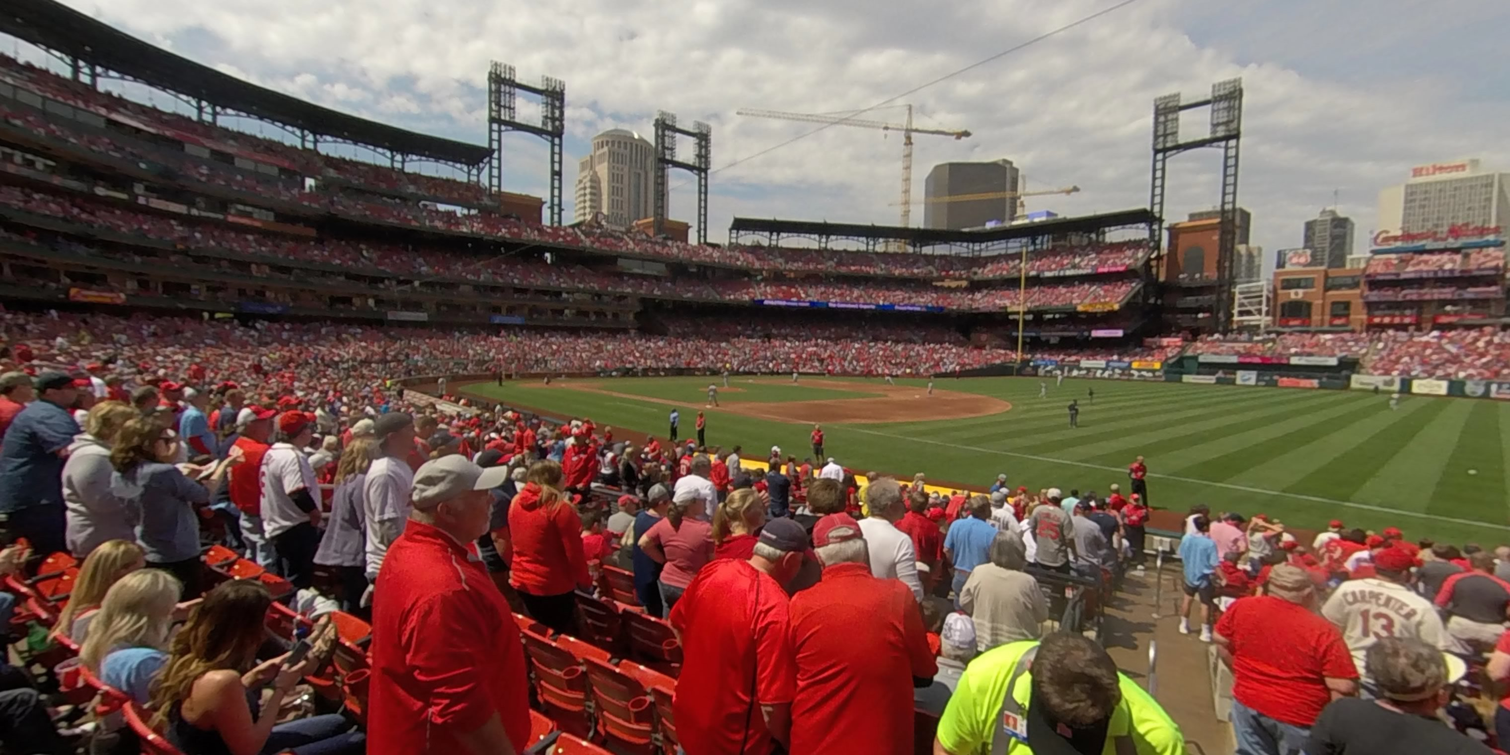 360° Photo From Busch Stadium Section 137