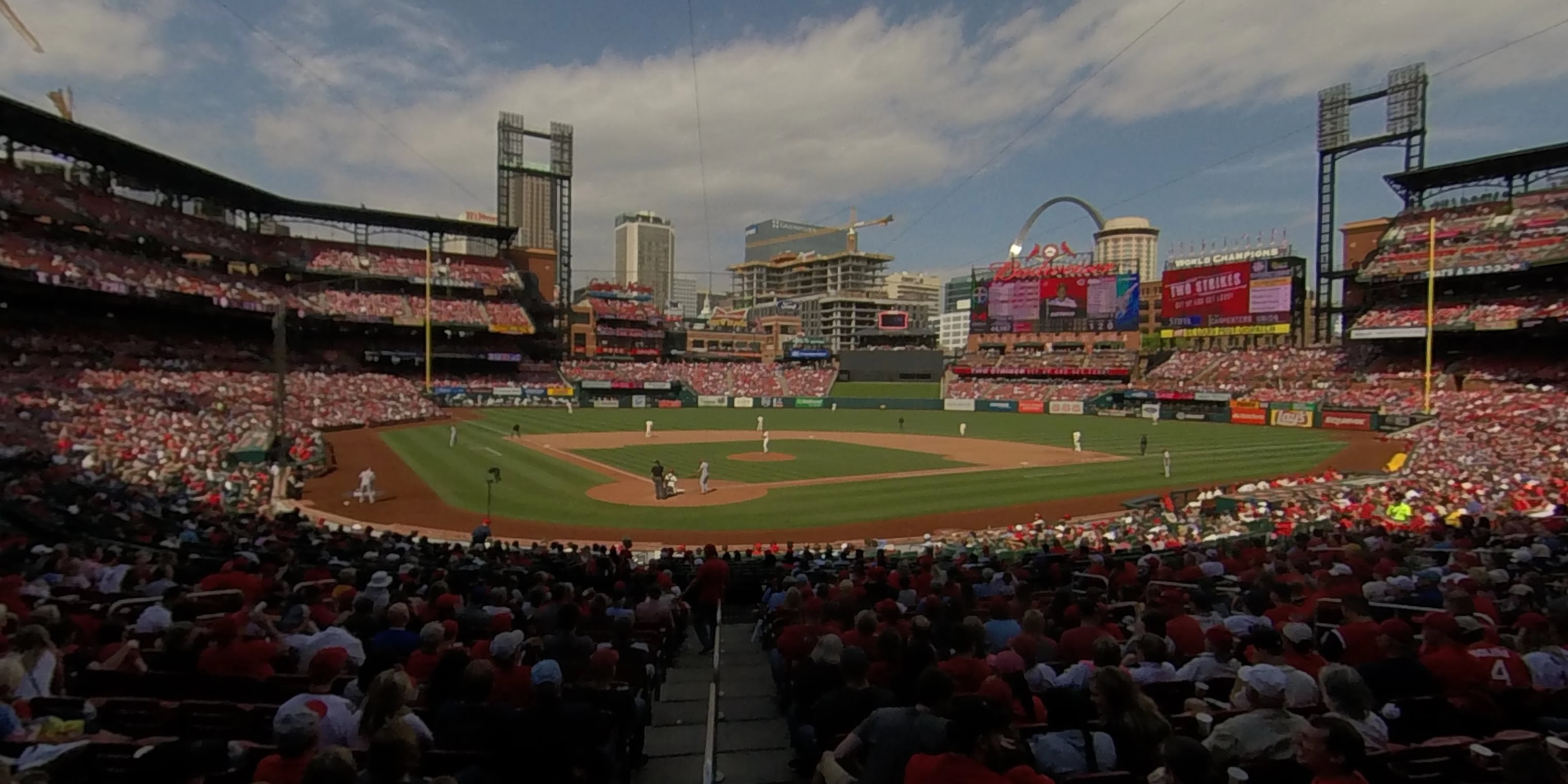 360° Photo From Busch Stadium Section 148