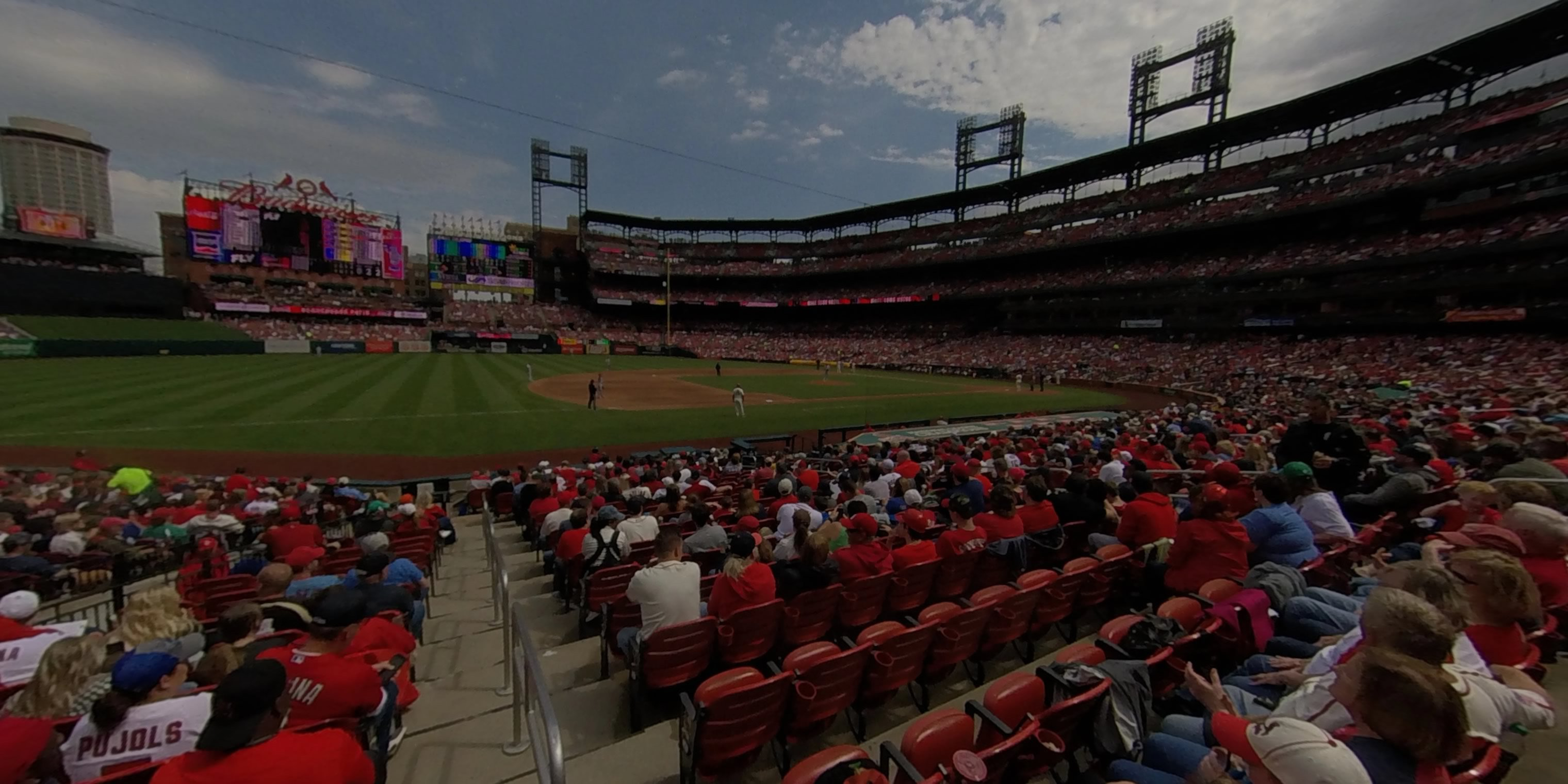 360° Photo From Busch Stadium Section 160