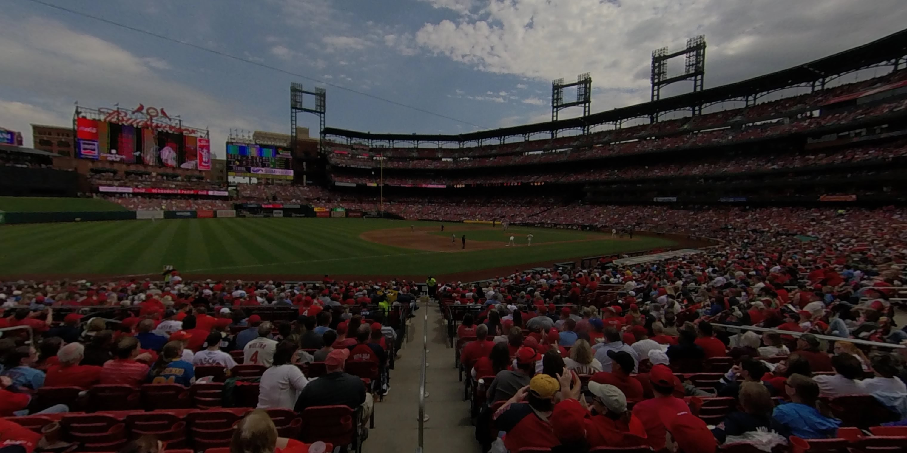 360° Photo From Busch Stadium Section 161