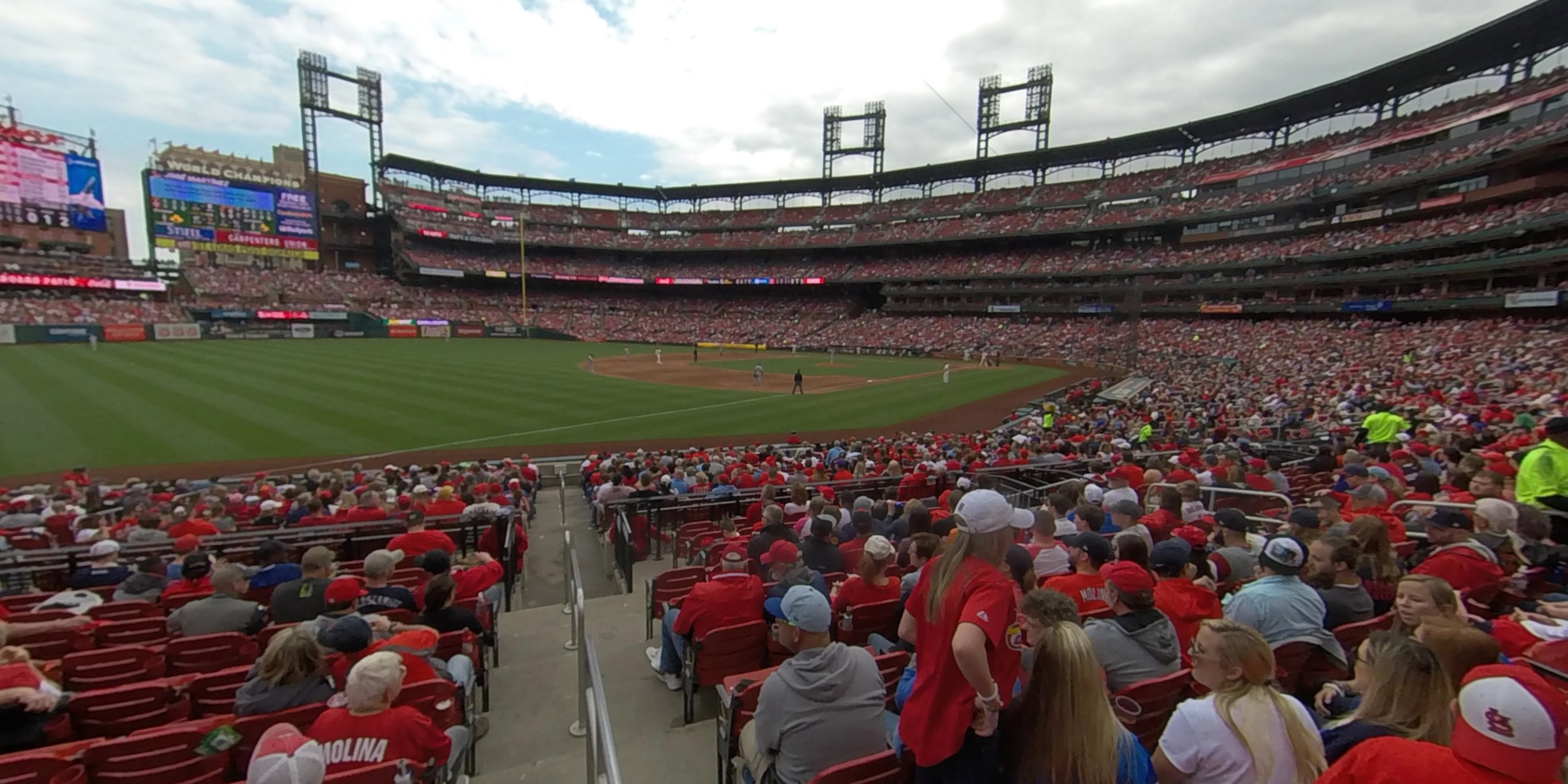 360° Photo From Busch Stadium Section 163