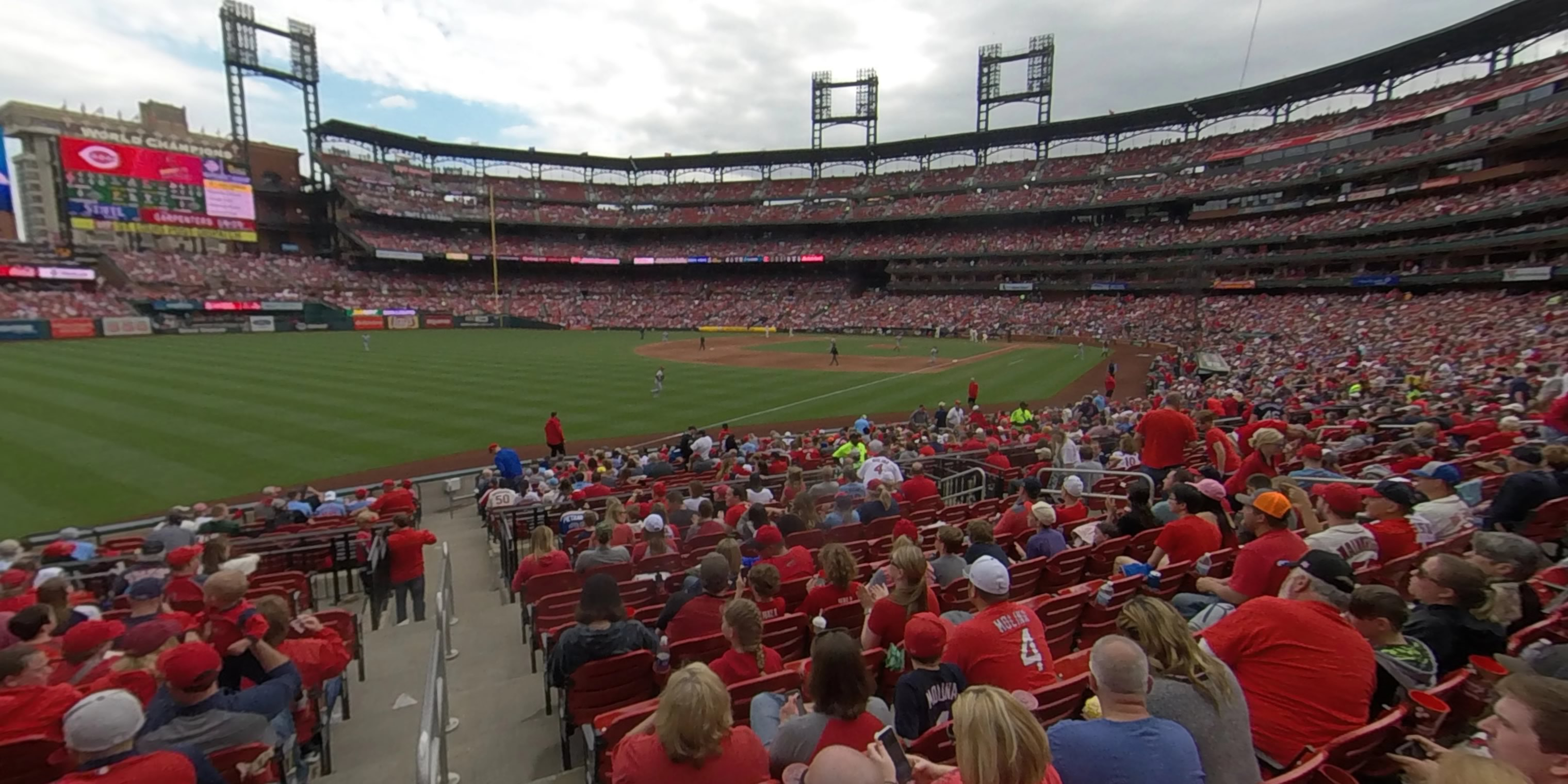 360° Photo From Busch Stadium Section 165