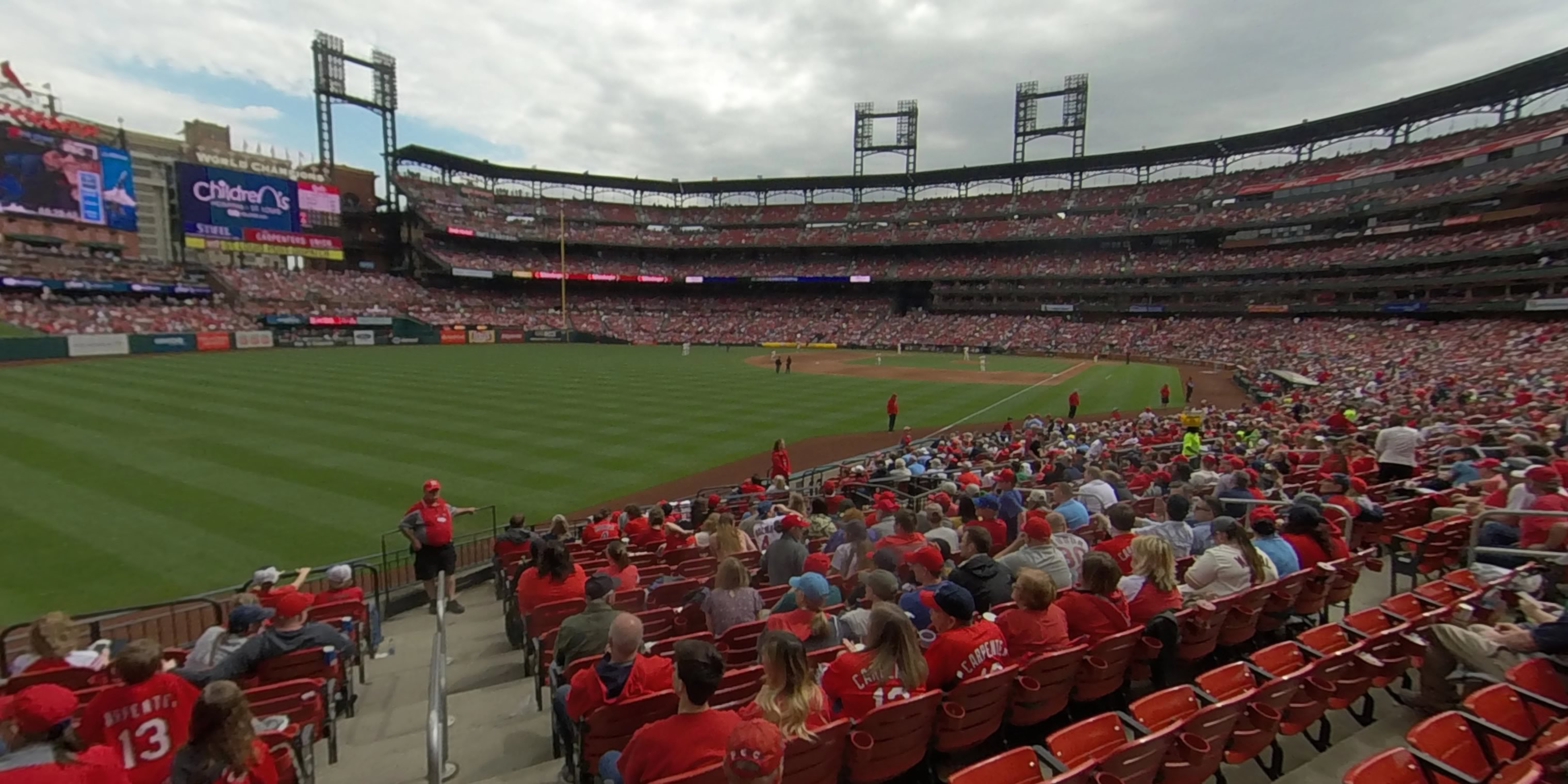 360° Photo From Busch Stadium Section 168