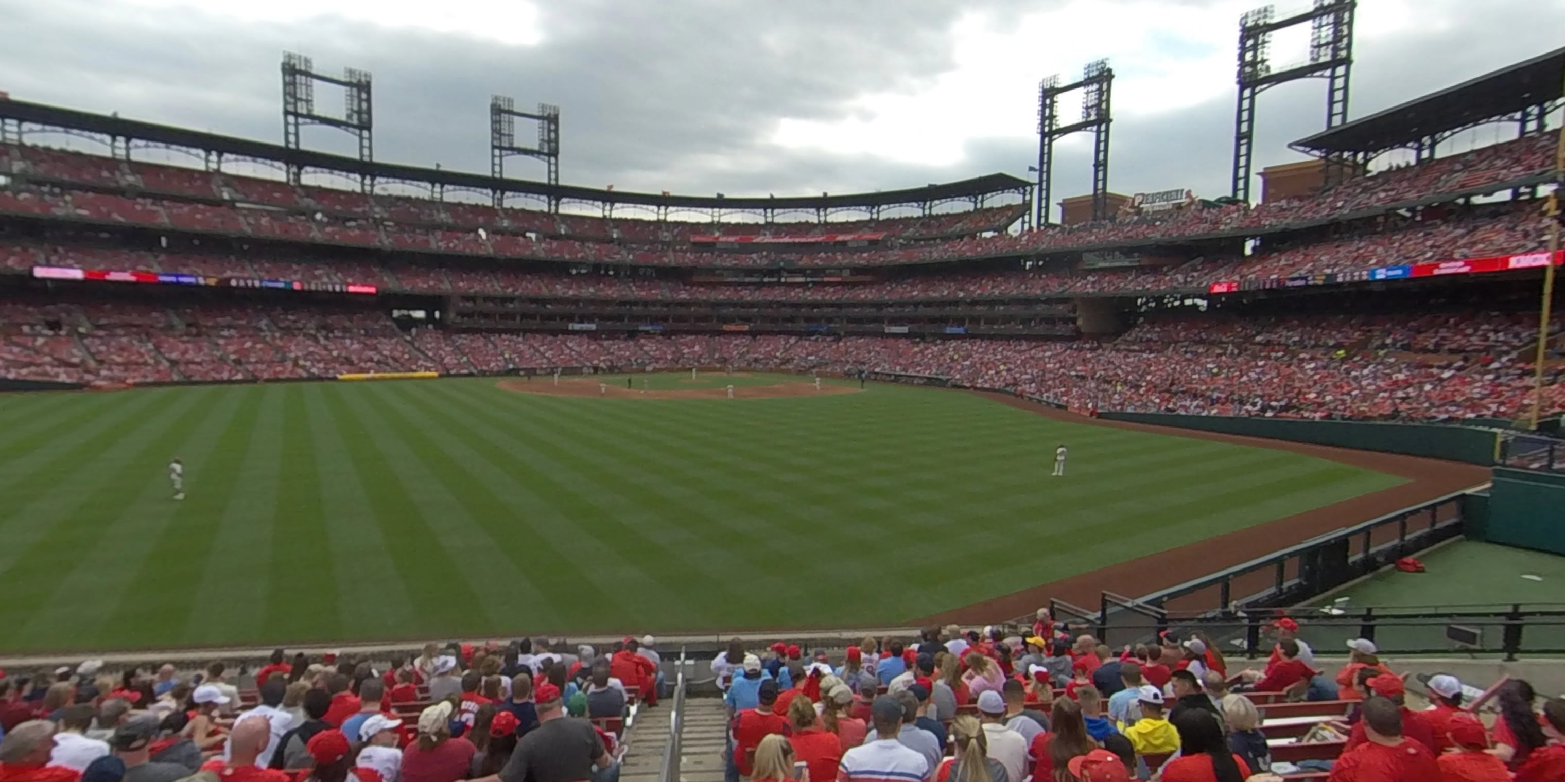 360° Photo From Busch Stadium Section 195