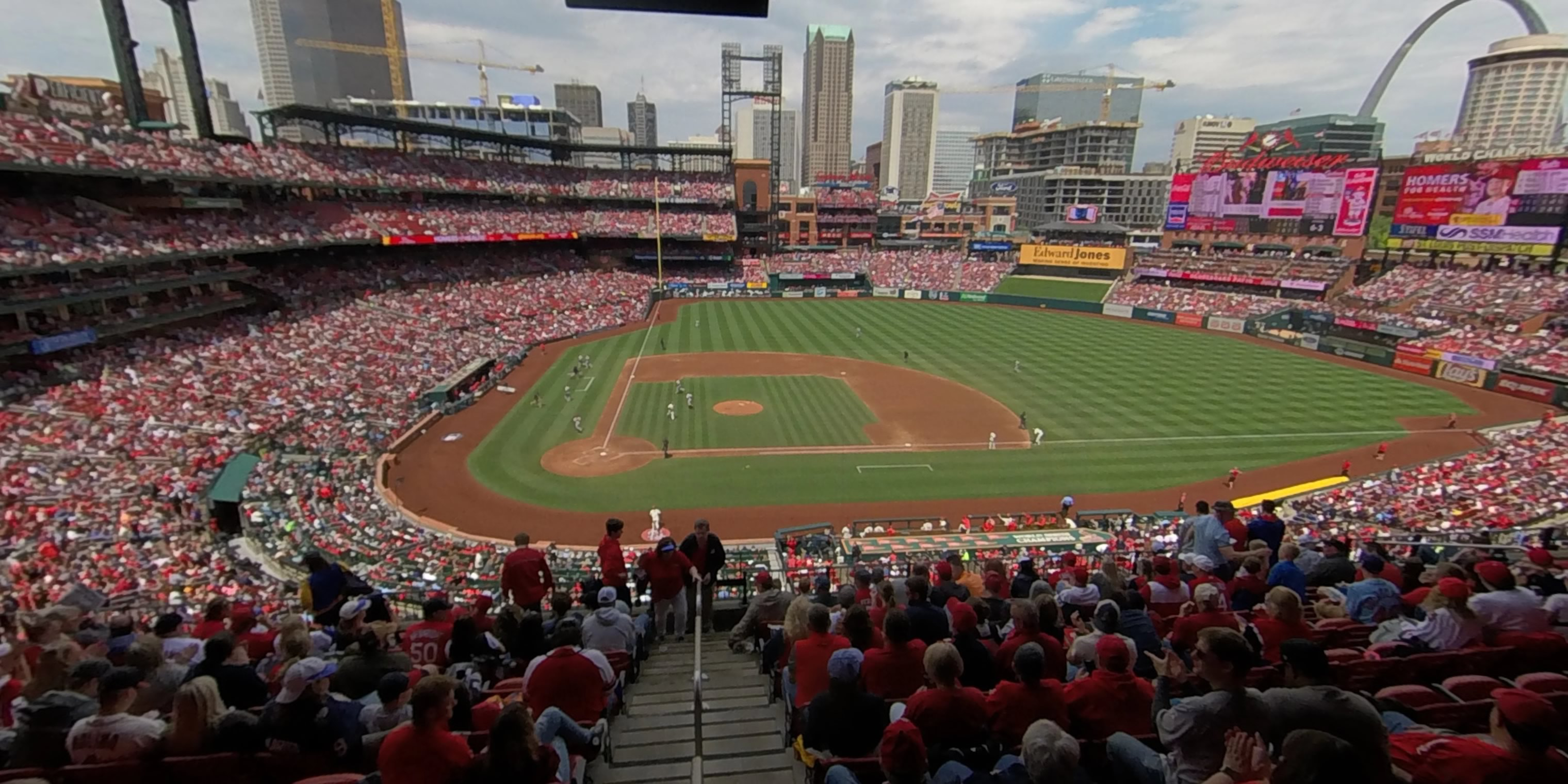 360° Photo From Busch Stadium Section 246