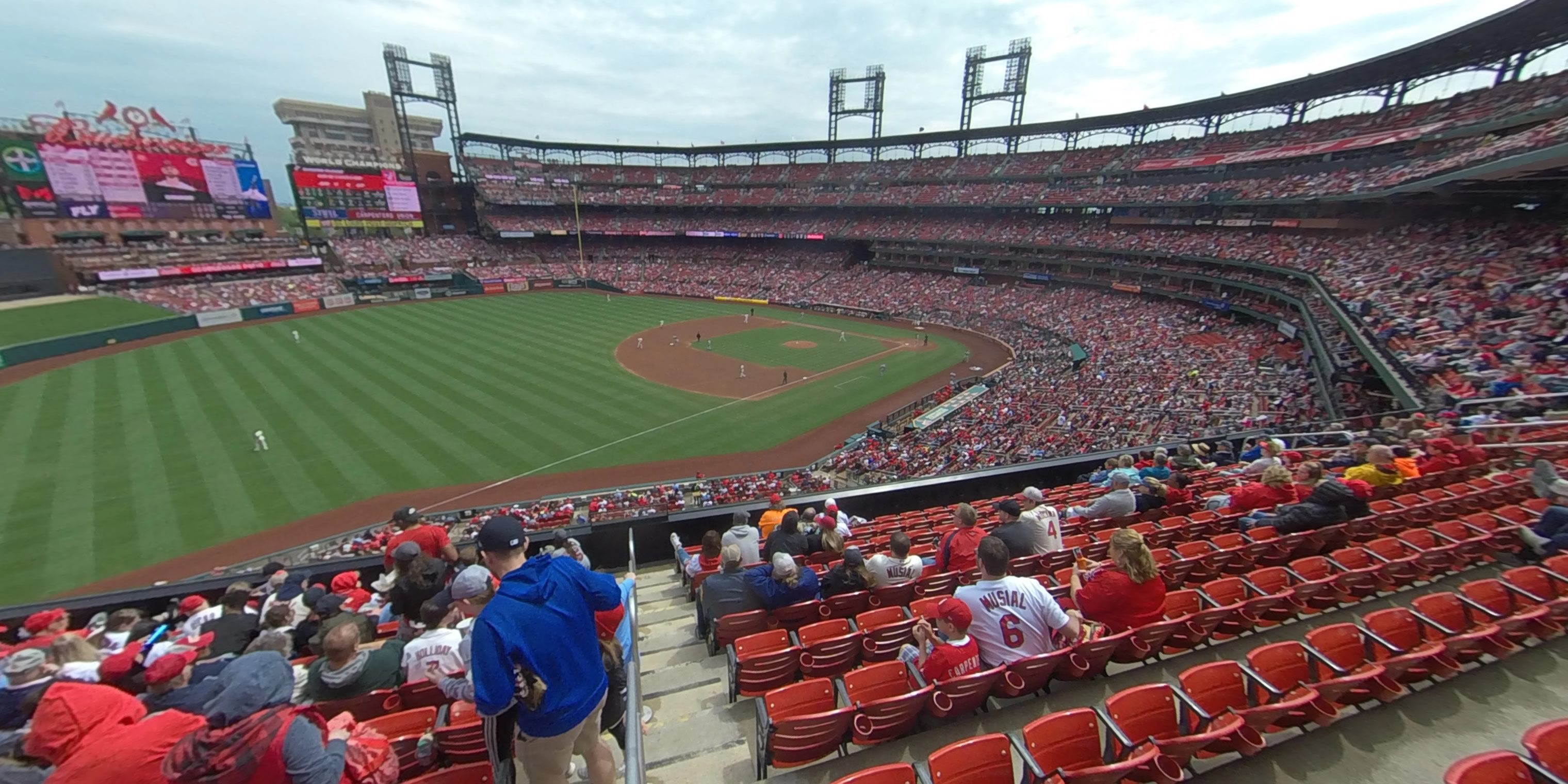 360° Photo From Busch Stadium Section 265