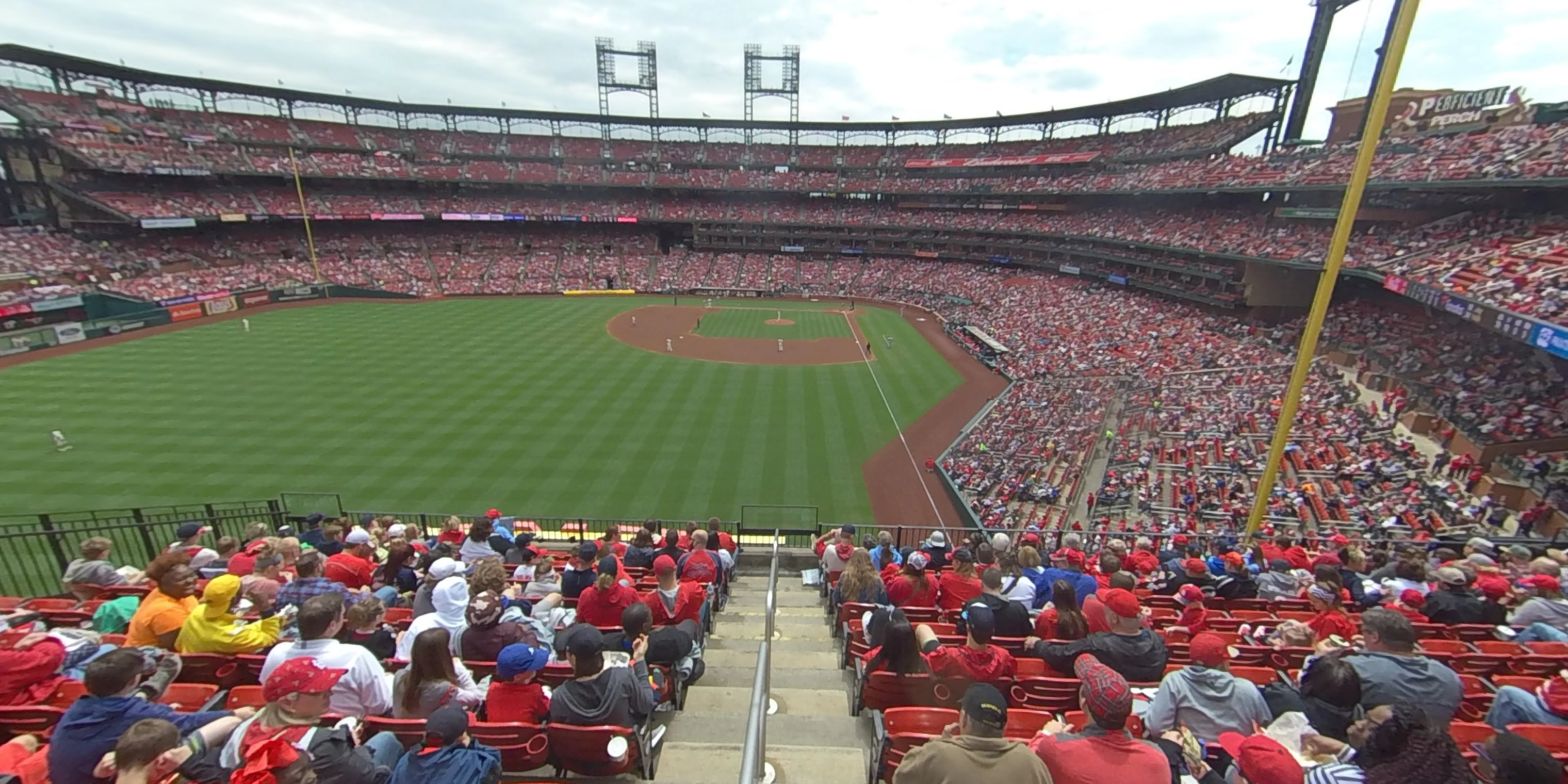 360° Photo From Busch Stadium Section 272