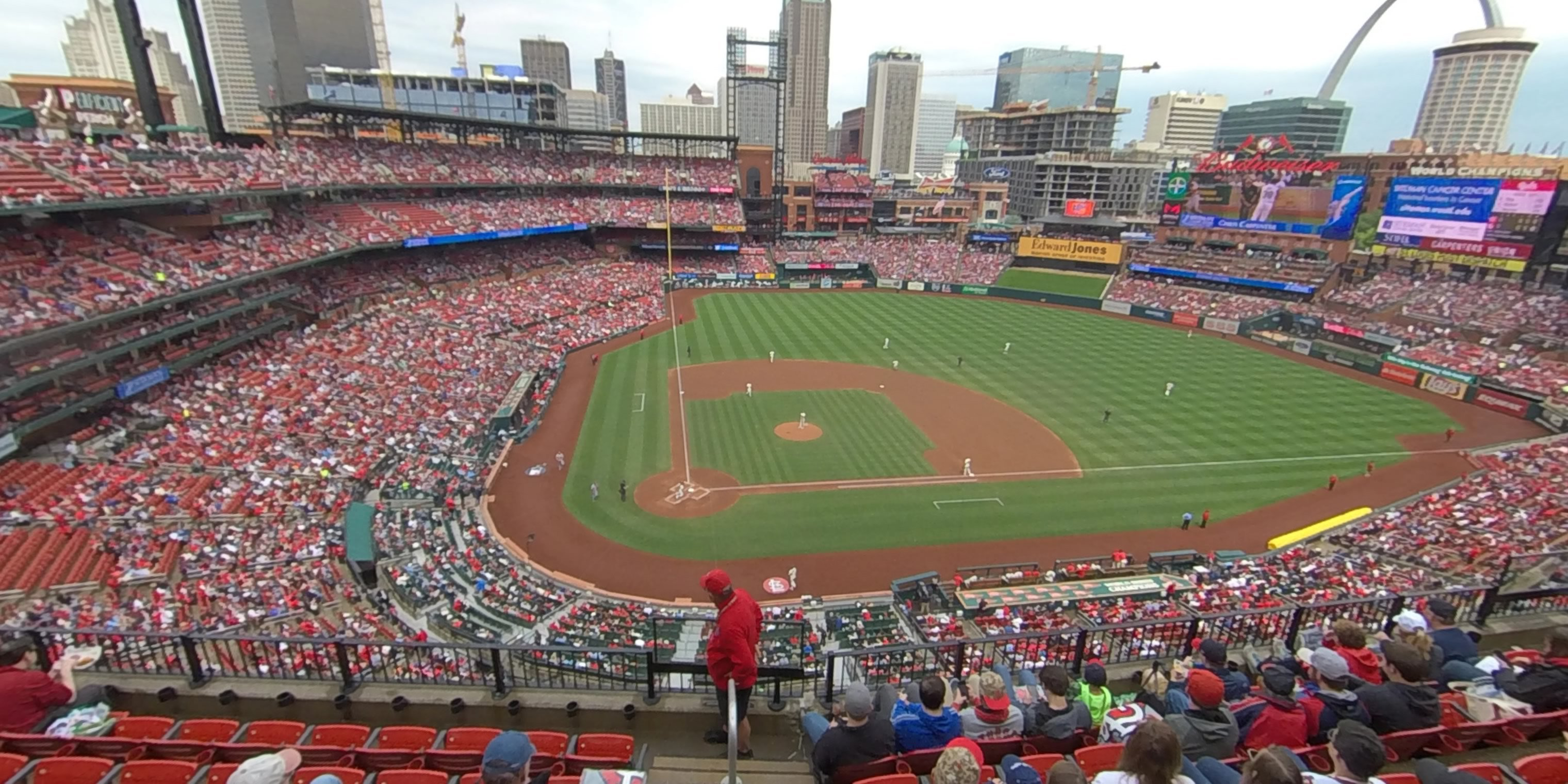 360° Photo From Busch Stadium Section 346