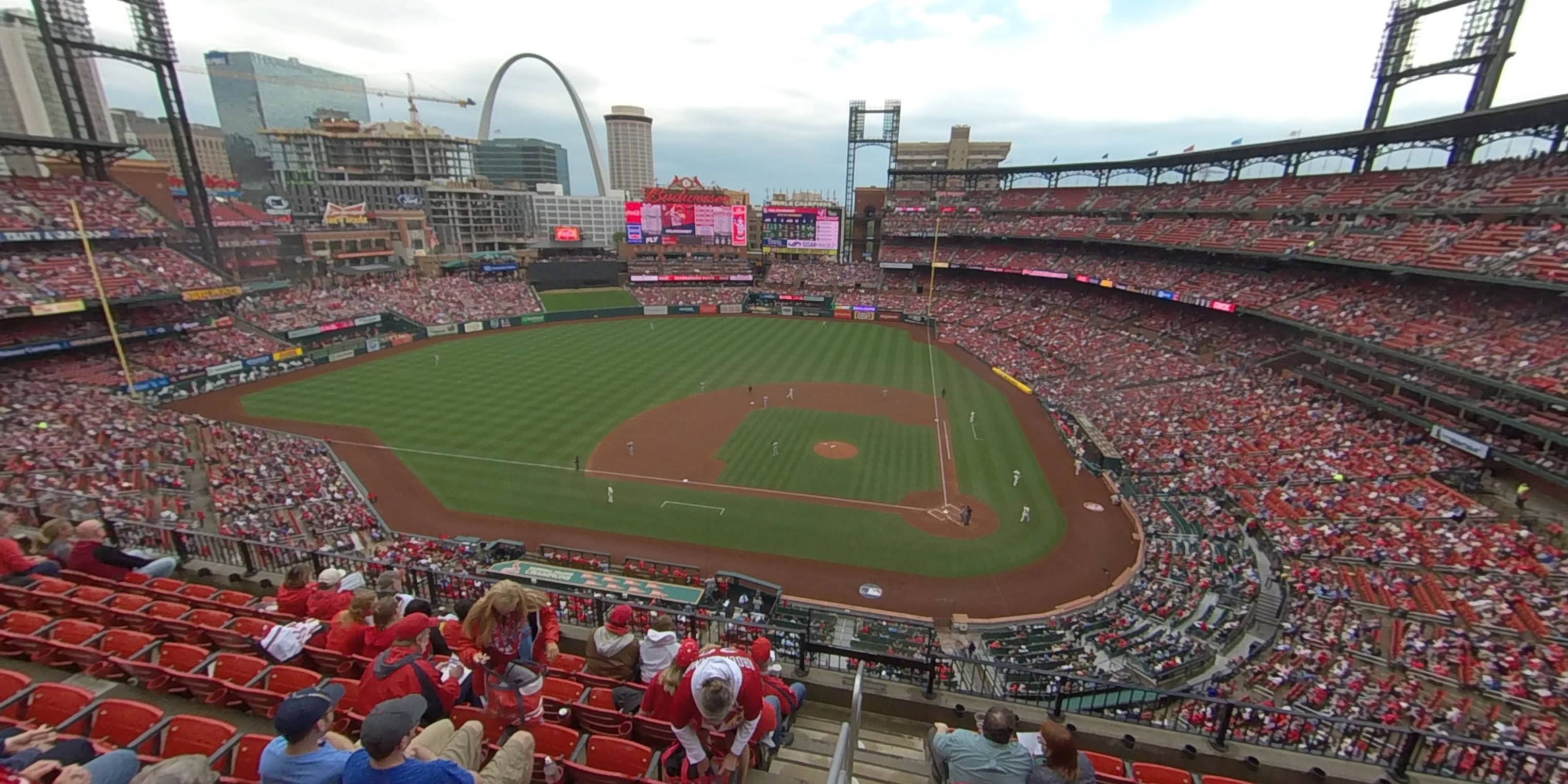 360° Photo From Busch Stadium Section 355