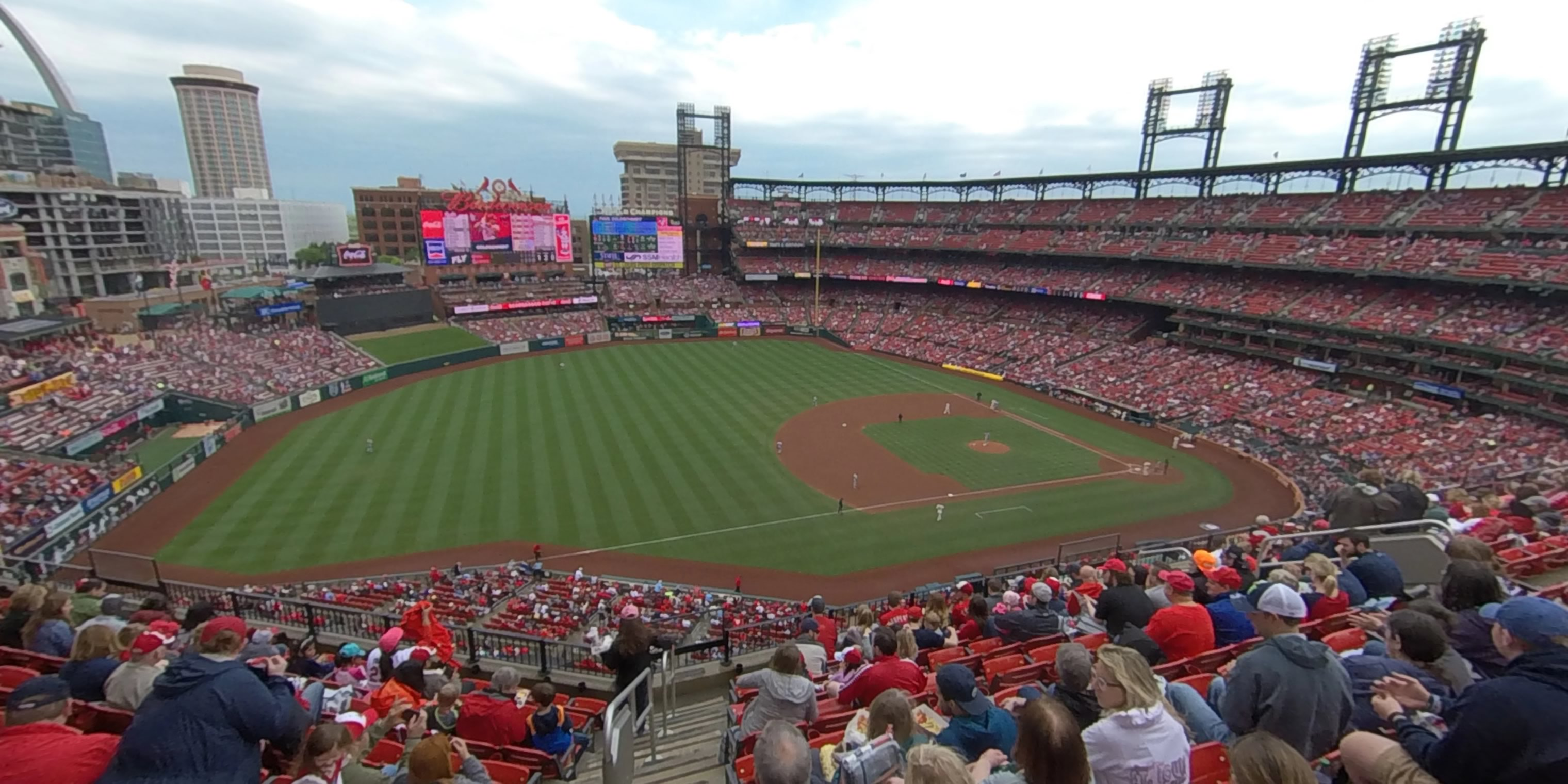 360° Photo From Busch Stadium Section 361
