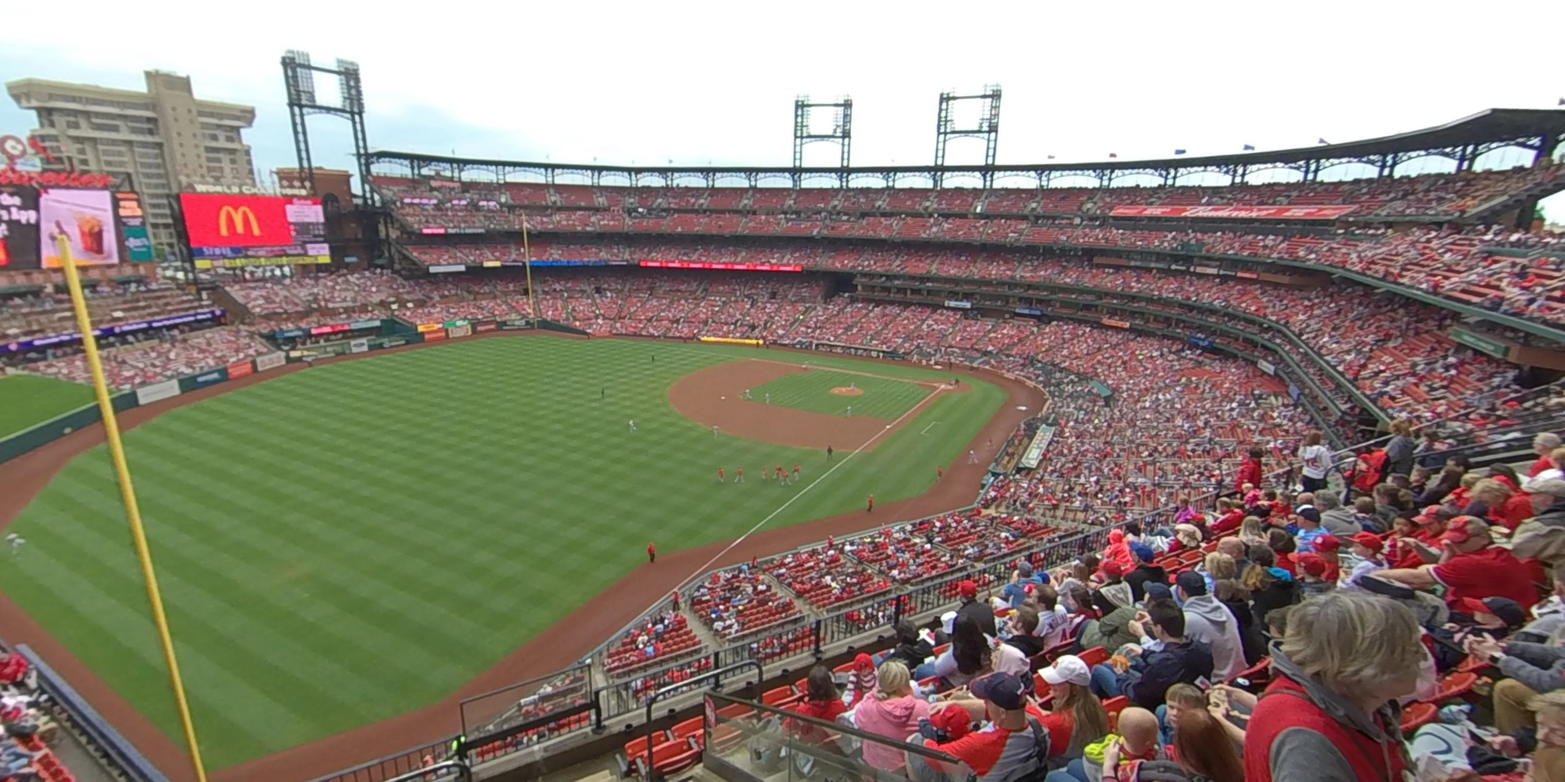 360° Photo From Busch Stadium Section 367