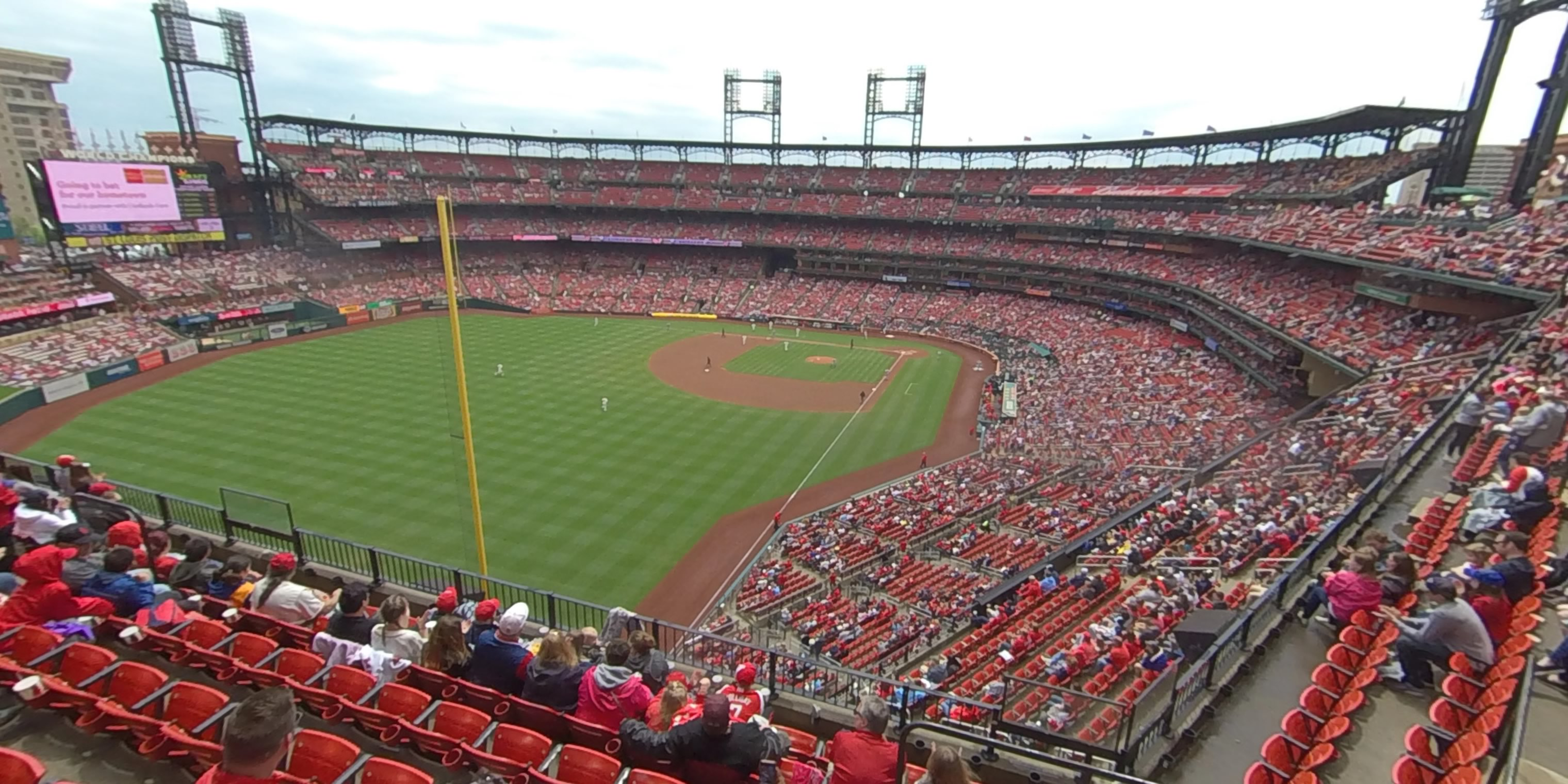 360° Photo From Busch Stadium Section 369