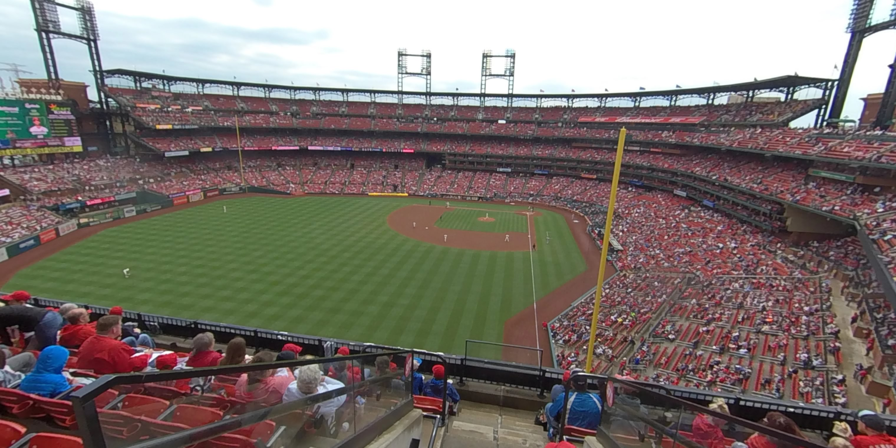 360° Photo From Busch Stadium Section 372